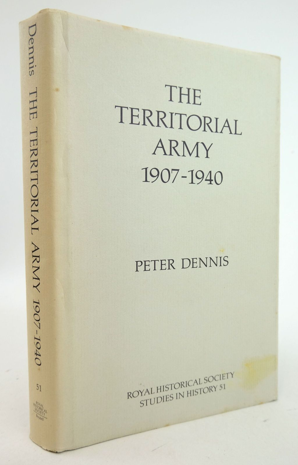Photo of THE TERRITORIAL ARMY 1906-1940 written by Dennis, Peter published by The Boydell Press (STOCK CODE: 1819777)  for sale by Stella & Rose's Books