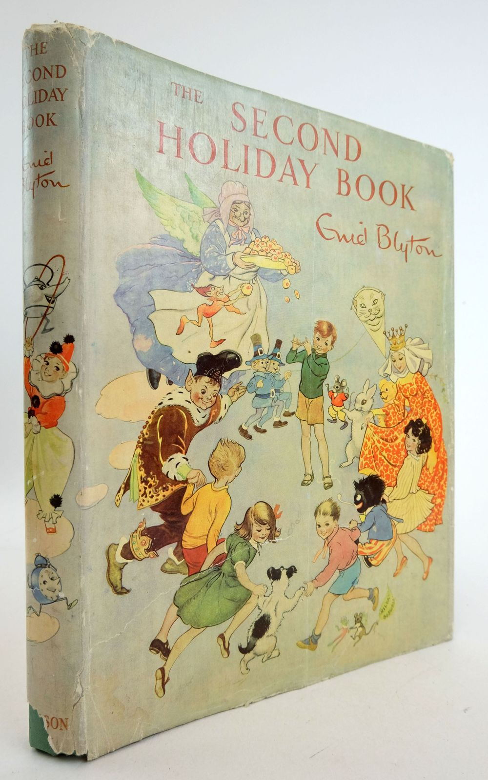 Photo of THE SECOND HOLIDAY BOOK written by Blyton, Enid illustrated by Venus, Sylvia Hopking, Noel McGavin, Hilda et al.,  published by Sampson Low, Marston & Co. Ltd. (STOCK CODE: 1819783)  for sale by Stella & Rose's Books