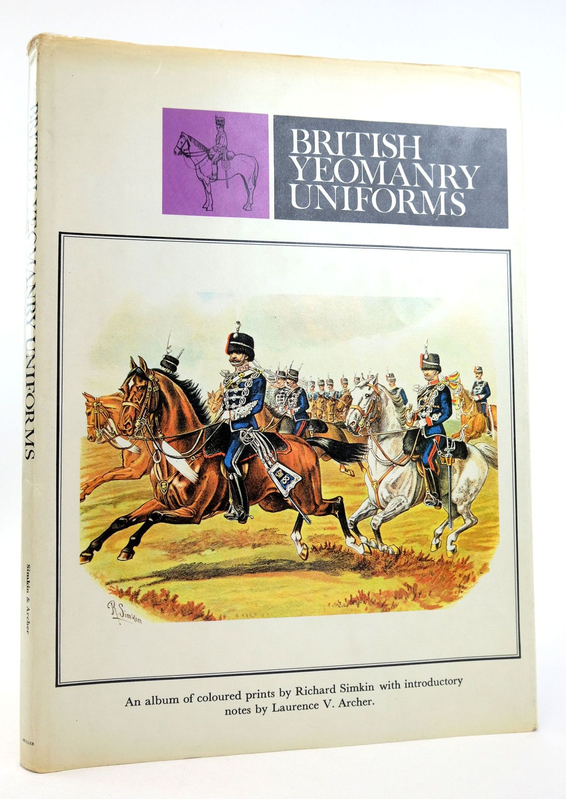 Photo of BRITISH YEOMANRY UNIFORMS: AN ALBUM OF COLOURED PRINTS- Stock Number: 1819796