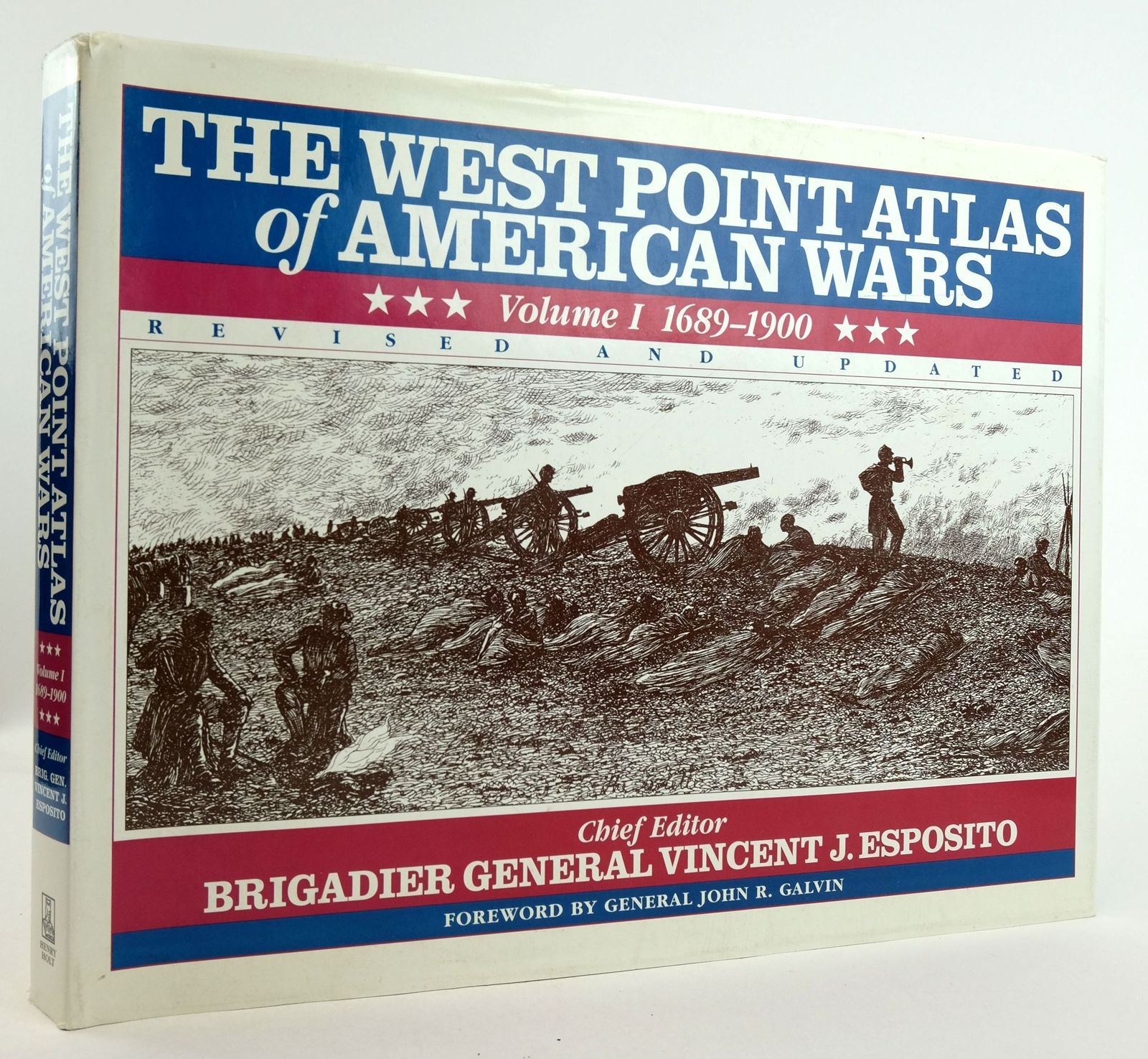 Photo of THE WEST POINT ATLAS OF AMERICAN WARS VOLUME I 1689-1900 written by Esposito, Vincent J. published by Henry Holt and Company (STOCK CODE: 1819802)  for sale by Stella & Rose's Books
