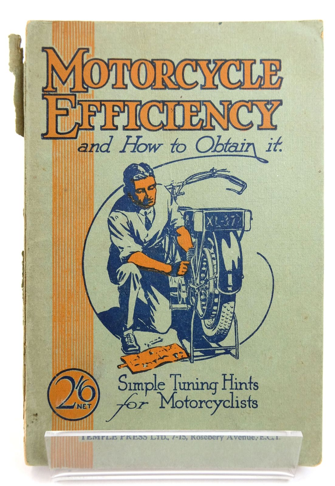 Photo of MOTORCYCLE EFFICIENCY AND HOW TO OBTAIN IT- Stock Number: 1819806