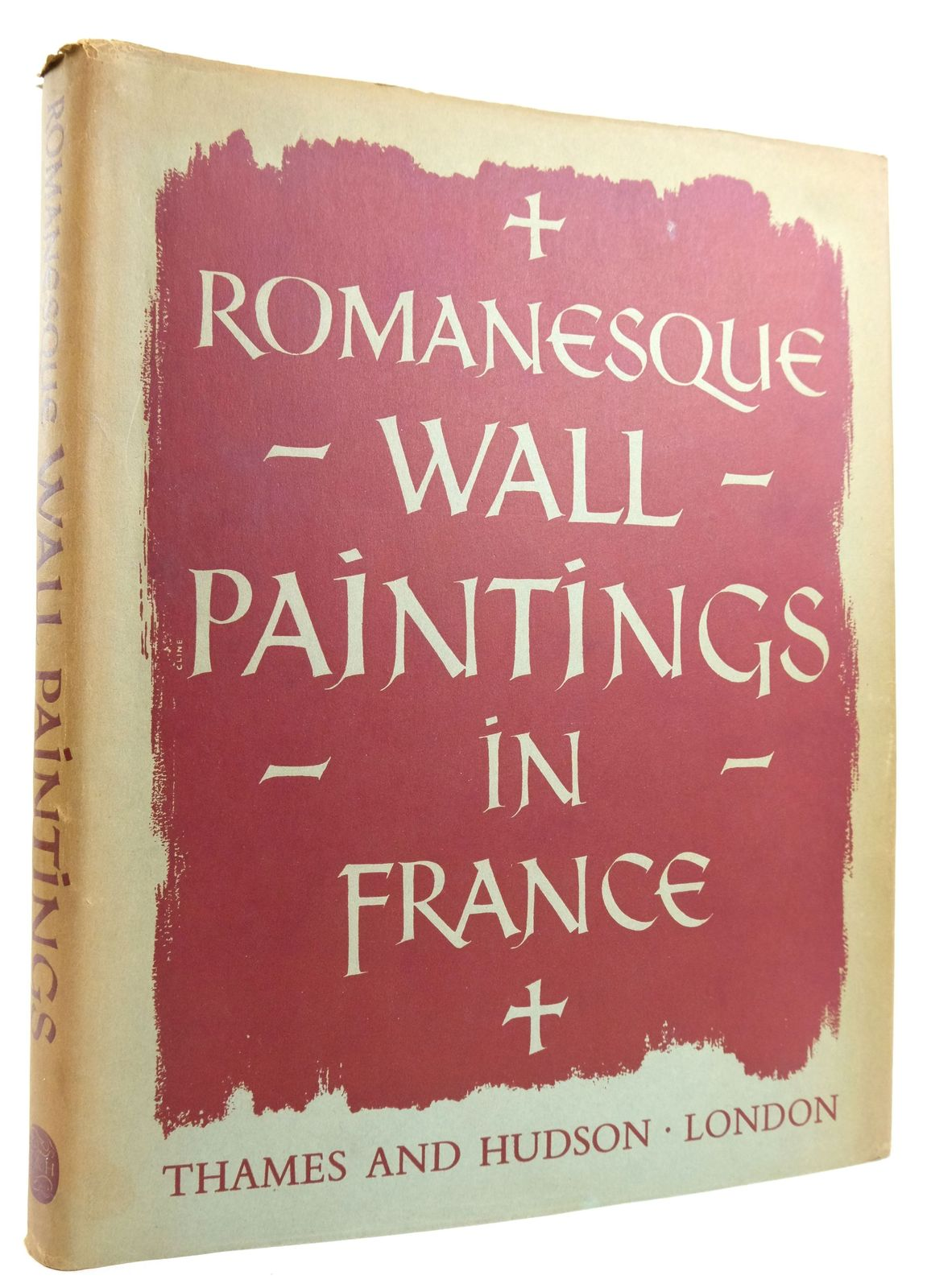 Photo of ROMANESQUE WALL PAINTINGS IN FRANCE written by Michel, Paul-Henri Evans, Joan published by Thames and Hudson (STOCK CODE: 1819859)  for sale by Stella & Rose's Books