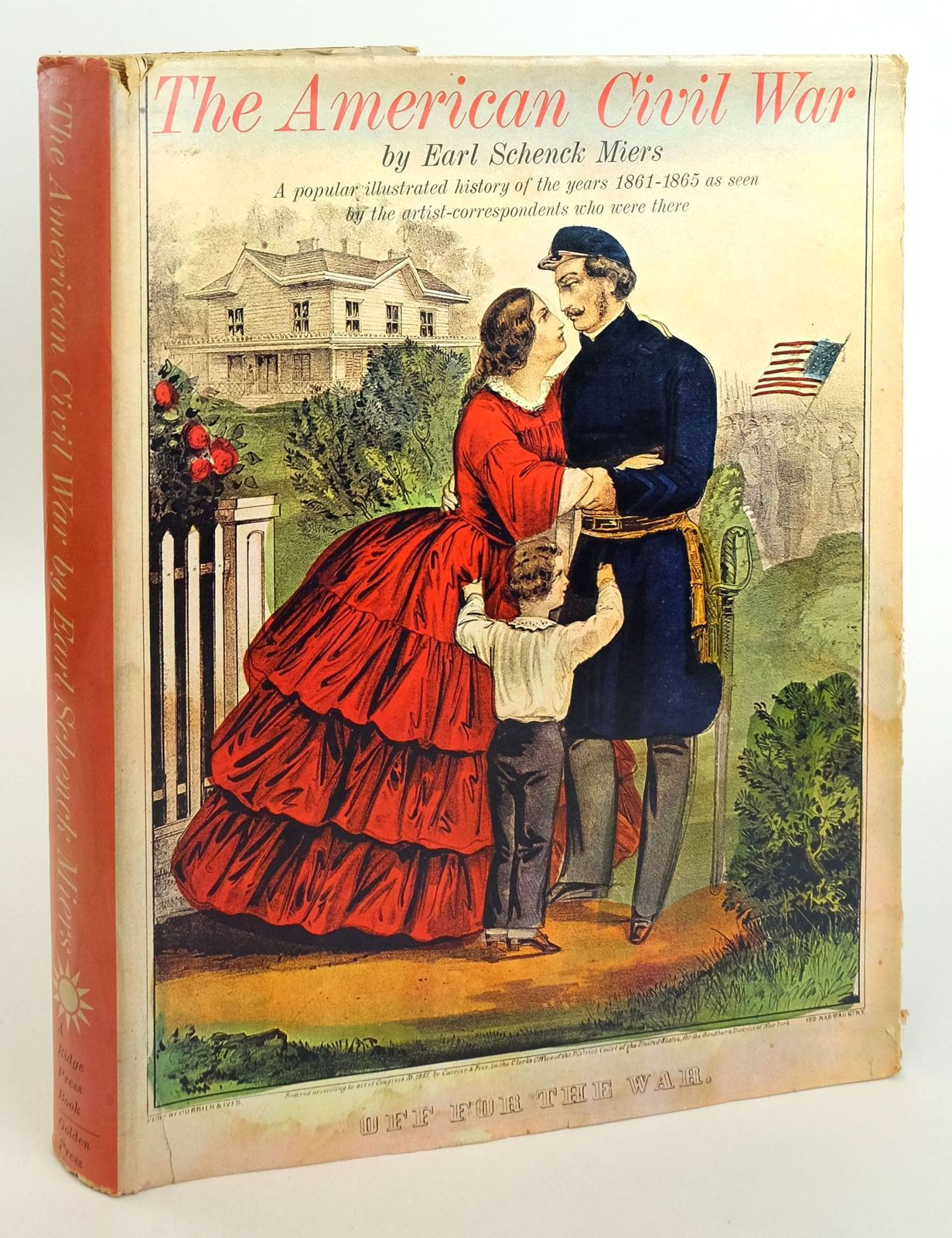 Photo of THE AMERICAN CIVIL WAR written by Miers, Earl Schenck published by Golden Press (STOCK CODE: 1819864)  for sale by Stella & Rose's Books