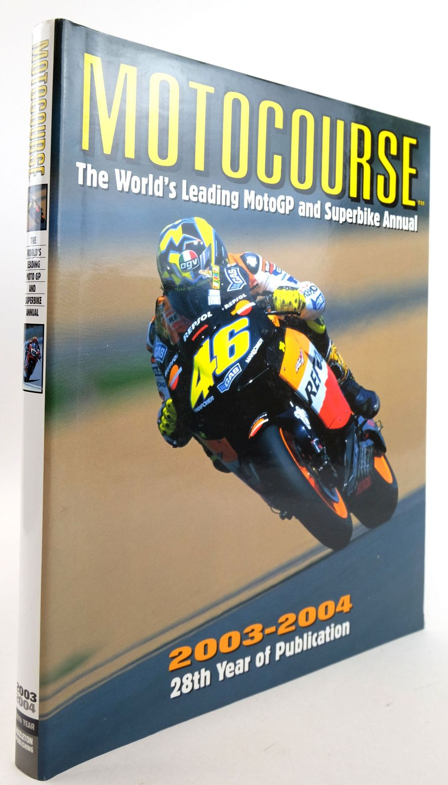 Photo of MOTOCOURSE 2003-2004 published by Hazleton Publishing (STOCK CODE: 1819877)  for sale by Stella & Rose's Books