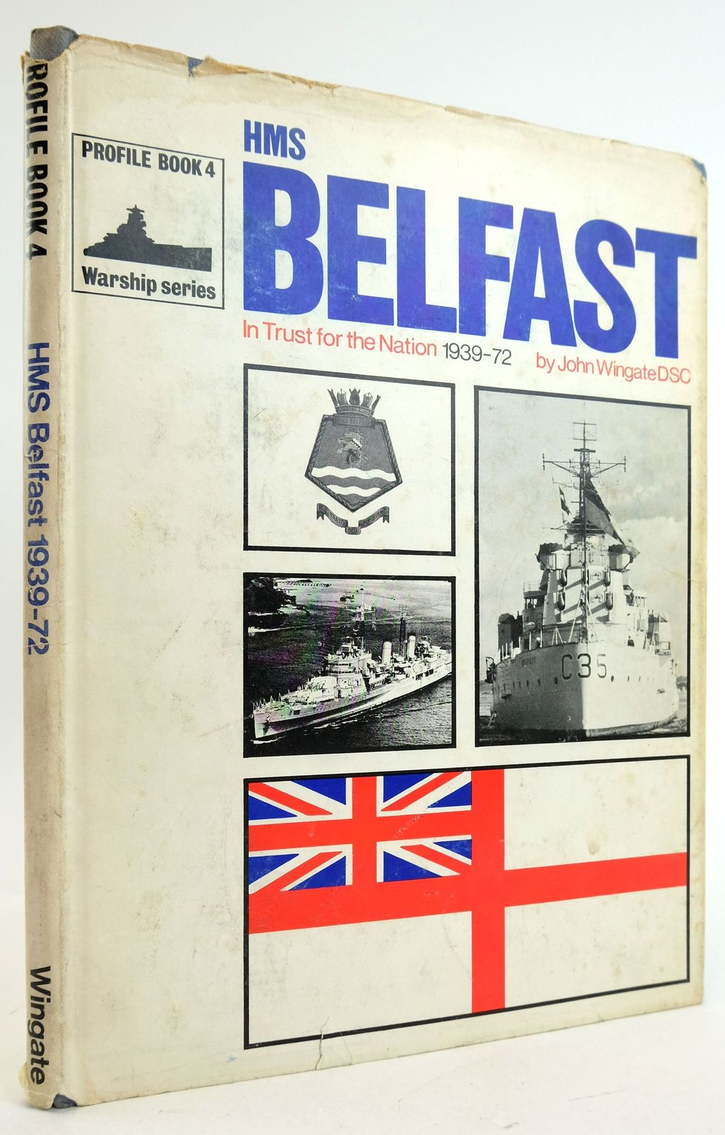 Photo of HMS BELFAST written by Wingate, John published by Profile Publications (STOCK CODE: 1819896)  for sale by Stella & Rose's Books