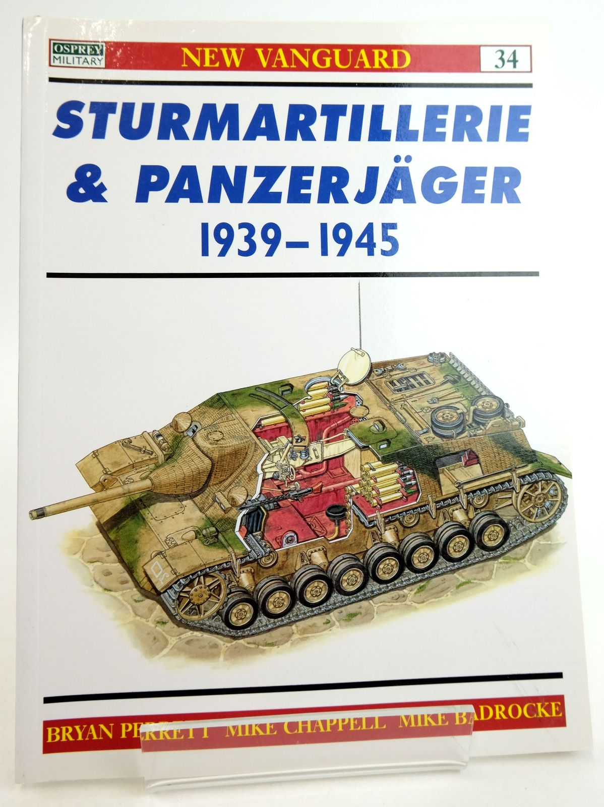 Photo of STURMARTILLERIE & PANZERJAGER 1939-1945 (NEW VANGUARD: 34)- Stock Number: 1819897
