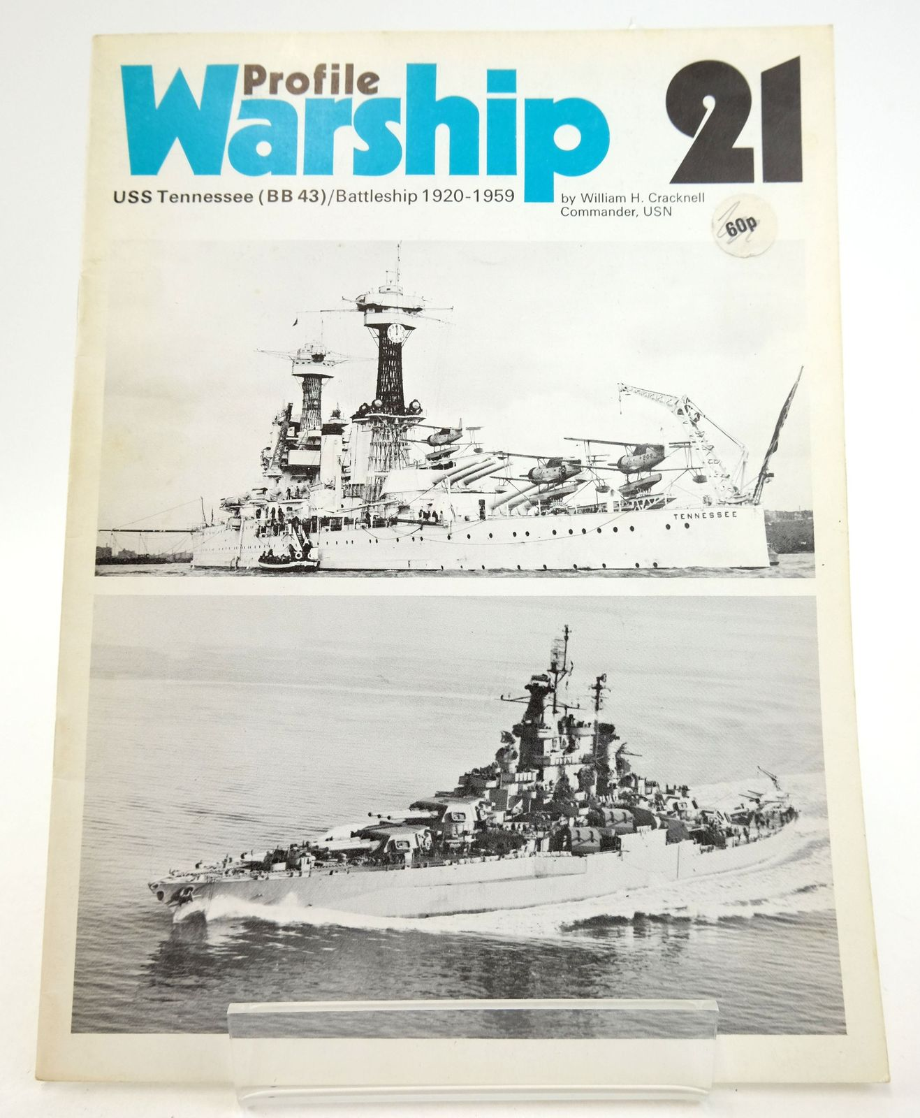 Photo of PROFILE WARSHIP 21: USS TENNESSEE (BB 43)/ BATTLESHIP 1920-1959 written by Cracknell, William H. published by Profile Publications (STOCK CODE: 1819902)  for sale by Stella & Rose's Books