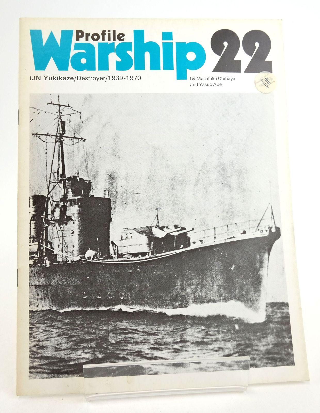 Photo of PROFILE WARSHIP 22: IJN YUKIKAZE/DESTROYER/1939-1970- Stock Number: 1819903