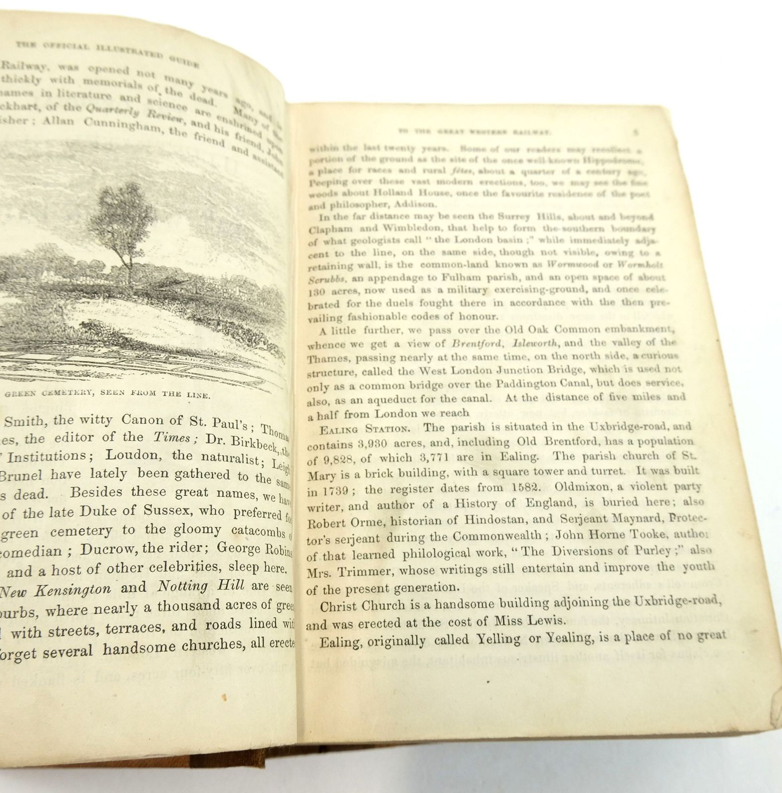 Photo of THE OFFICIAL ILLUSTRATED GUIDE TO THE GREAT WESTERN RAILWAY written by Measom, George published by Griffin Bohn and Co. (STOCK CODE: 1819920)  for sale by Stella & Rose's Books