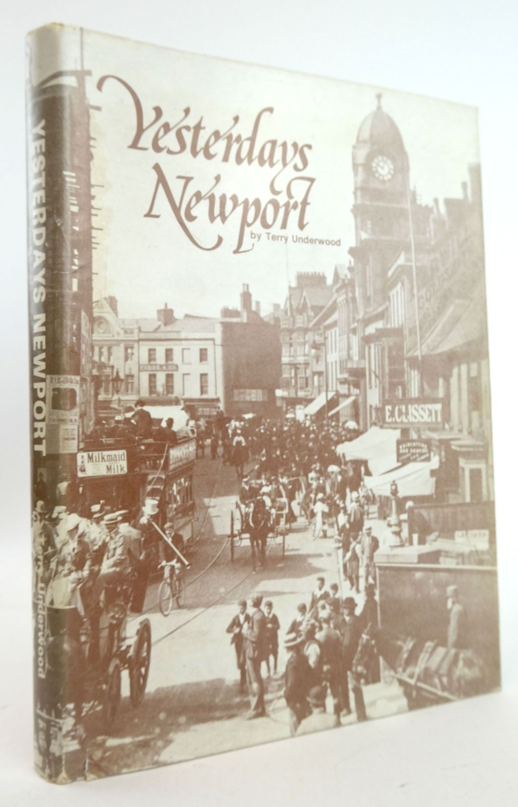 Photo of YESTERDAYS NEWPORT written by Underwood, Terry published by Terry Underwood (STOCK CODE: 1819932)  for sale by Stella & Rose's Books