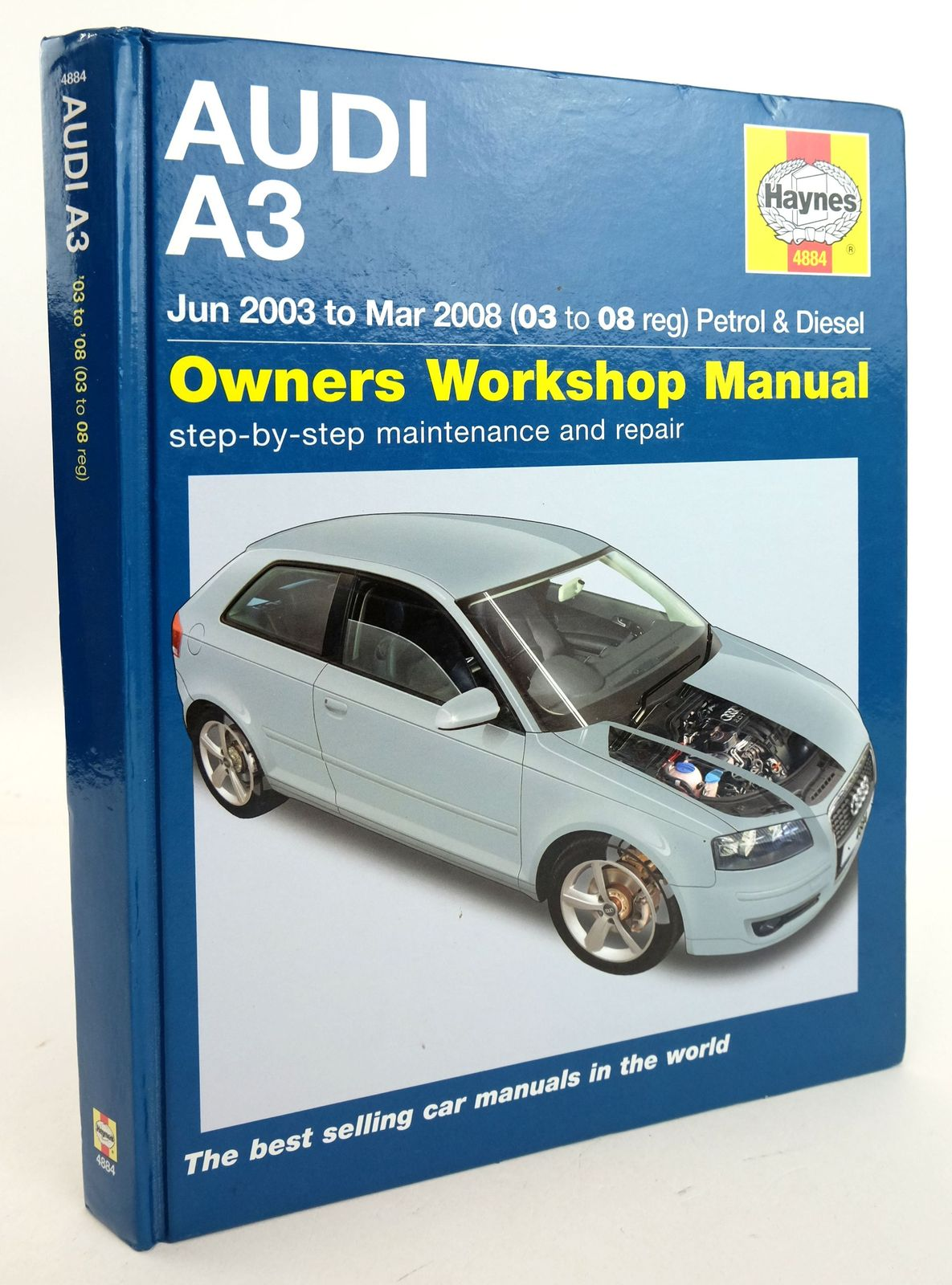 Photo of AUDI A3: OWNERS WORKSHOP MANUAL written by Gill, Peter T. published by Haynes Publishing (STOCK CODE: 1819933)  for sale by Stella & Rose's Books