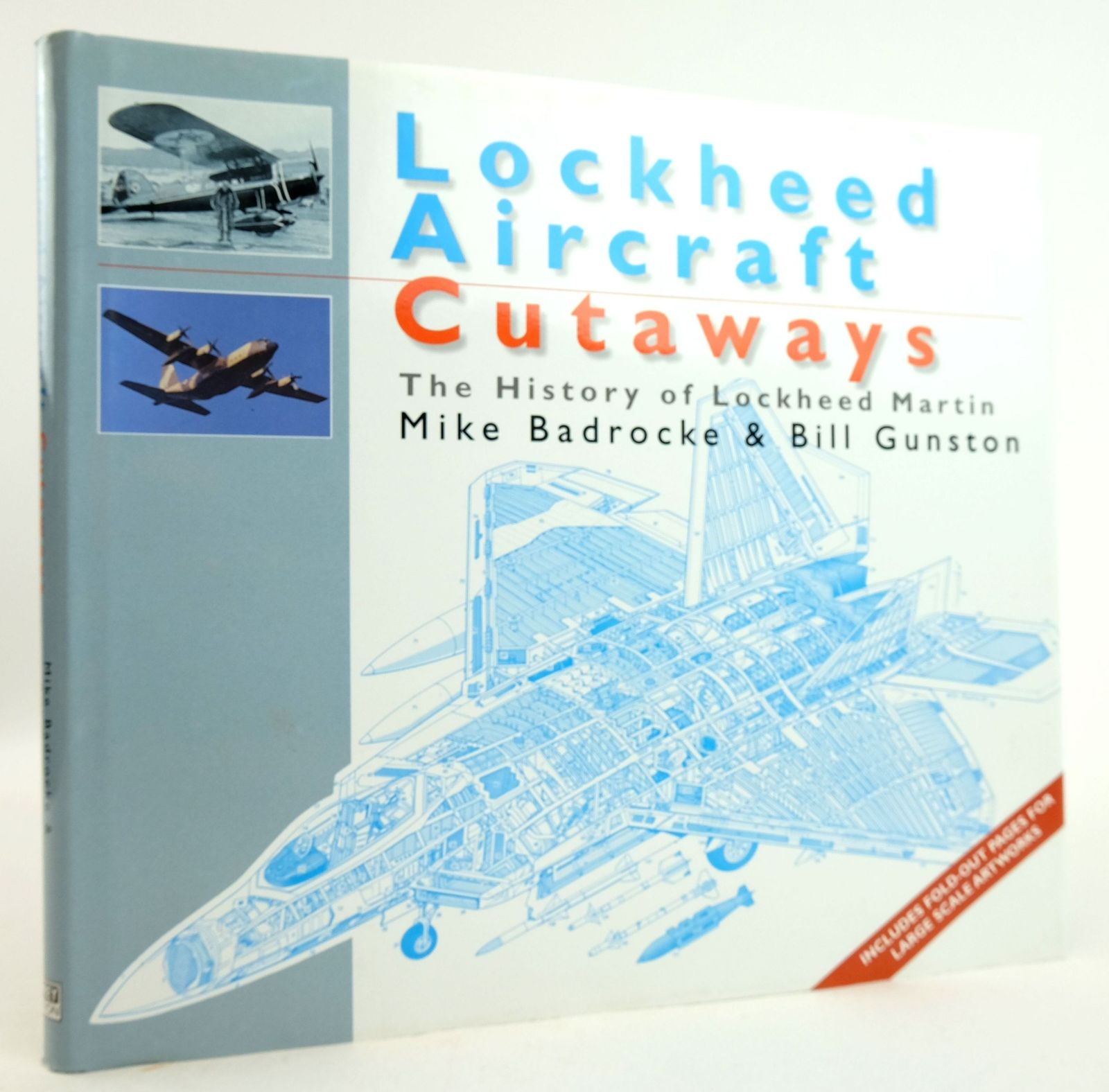 Photo of LOCKHEED AIRCRAFT CUTAWAYS: THE HISTORY OF LOCKHEED MARTIN- Stock Number: 1819935
