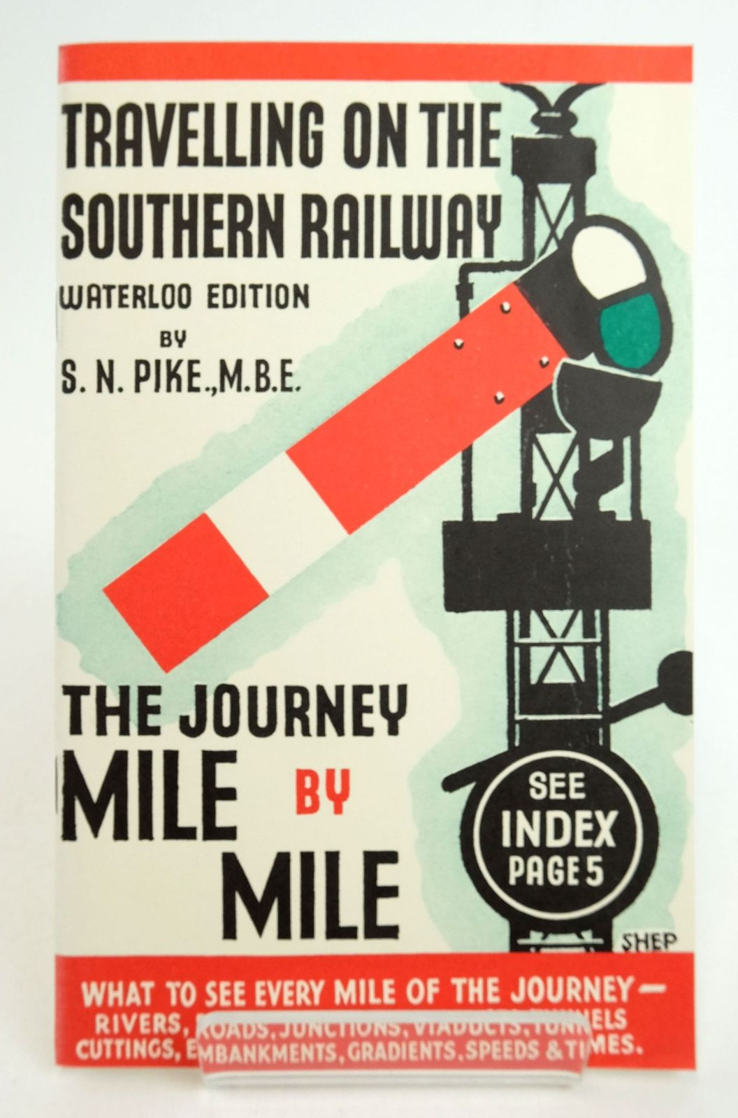 Photo of THE JOURNEY MILE BY MILE written by Pike, S.N. published by Silver Link Publishing (STOCK CODE: 1819965)  for sale by Stella & Rose's Books