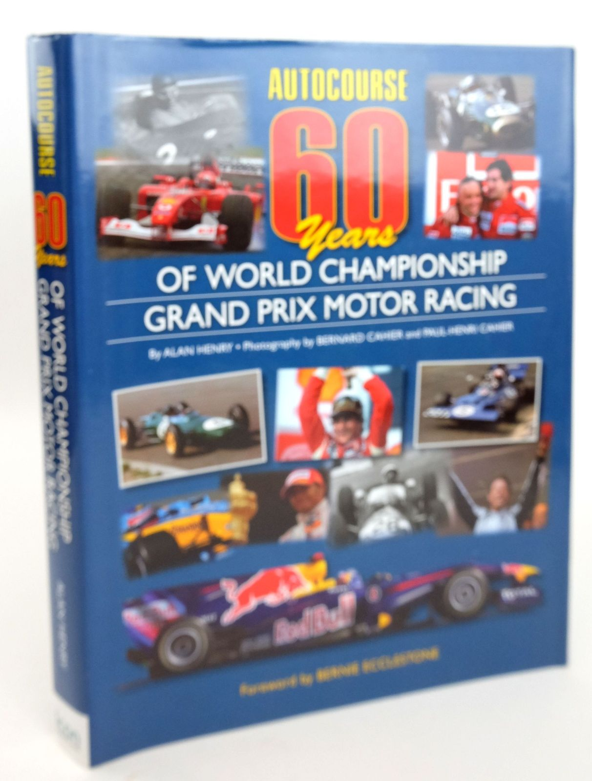 Photo of AUTOCOURSE 60 YEARS OF WORLD CHAMPIONSHIP GRAND PRIX MOTOR RACING written by Henry, Alan published by Icon Publishing Limited (STOCK CODE: 1819973)  for sale by Stella & Rose's Books