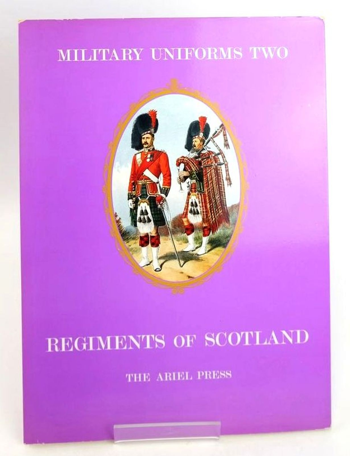 Photo of MILITARY UNIFORMS II: REGIMENTS OF SCOTLAND written by Carman, W.Y. illustrated by Simkin, Richard published by The Ariel Press (STOCK CODE: 1819989)  for sale by Stella & Rose's Books