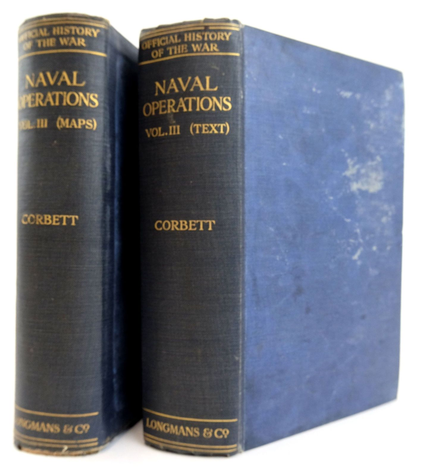 Photo of NAVAL OPERATIONS VOL. III (2 VOLUMES) written by Corbett, Julian S. published by Longmans, Green & Co. (STOCK CODE: 1820022)  for sale by Stella & Rose's Books
