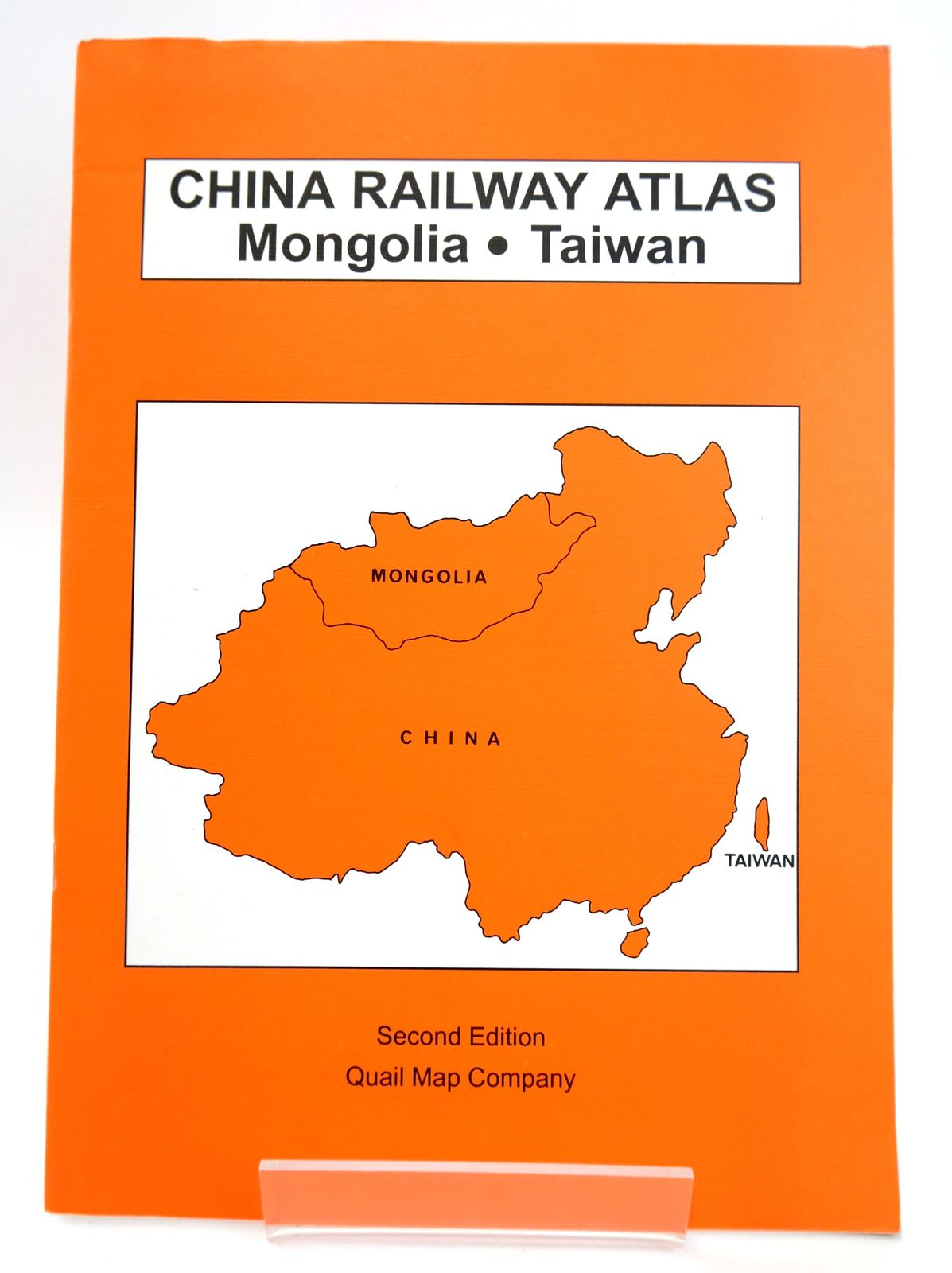 Photo of CHINA RAILWAY ATLAS: MONGOLIA, TAIWAN- Stock Number: 1820023