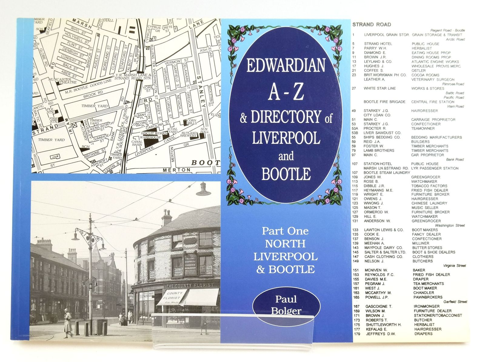 Photo of EDWARDIAN A-Z & DIRECTORY OF LIVERPOOL & BOOTLE: PART ONE NORTH LIVERPOOL & BOOTLE written by Bolger, Paul published by Stations U.K. (STOCK CODE: 1820024)  for sale by Stella & Rose's Books
