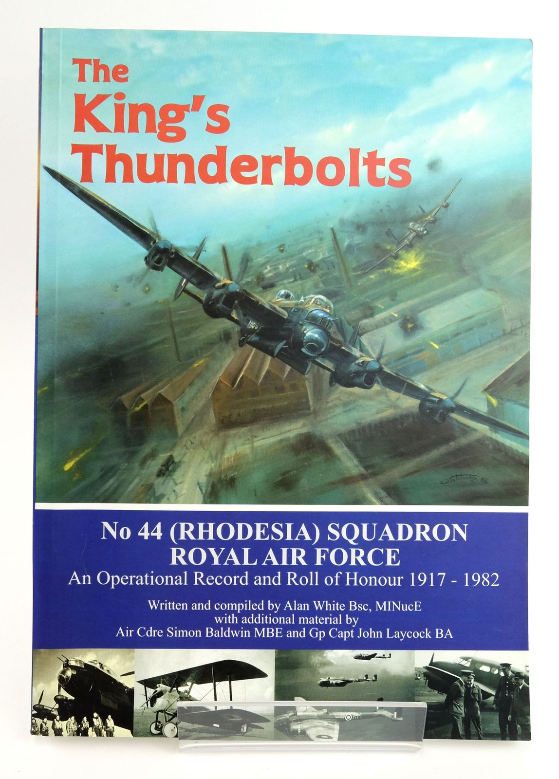 Photo of THE KING'S THUNDERBOLTS: NO 44 (RHODESIA) SQUADRON ROYAL AIR FORCE written by White, Alan published by Tucann (STOCK CODE: 1820037)  for sale by Stella & Rose's Books