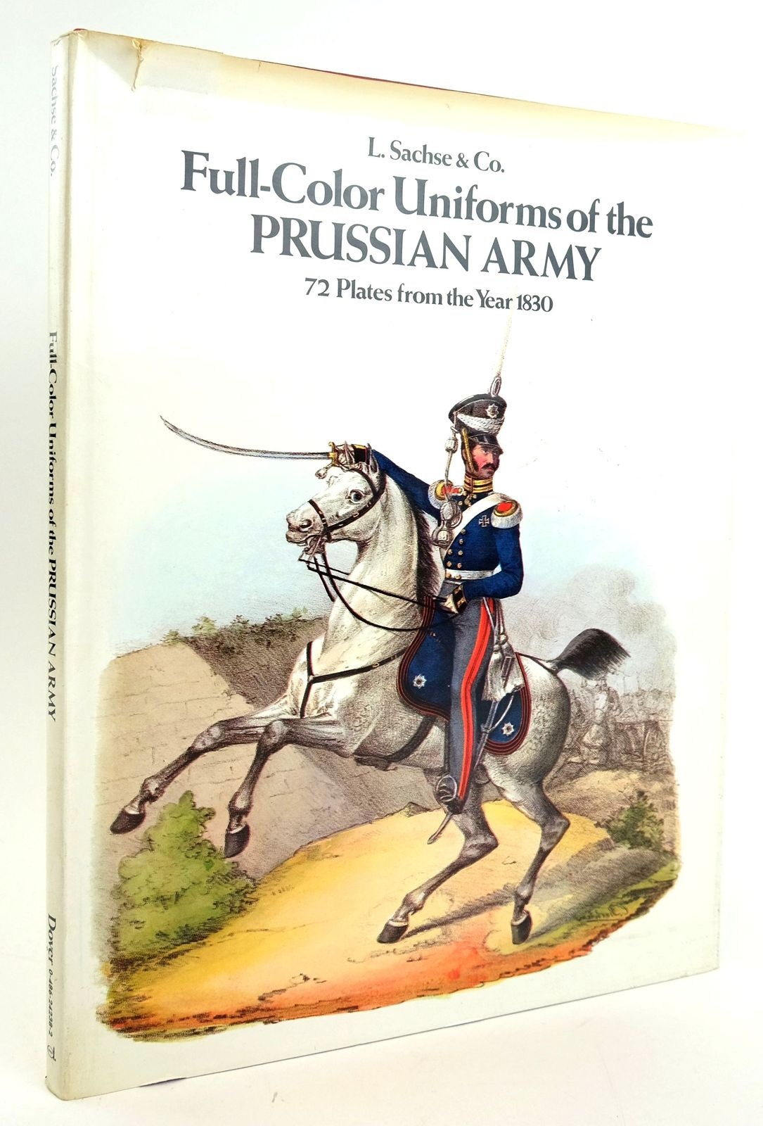 Photo of FULL-COLOR UNIFORMS OF THE PRUSSIAN ARMY published by Dover Publications Inc. (STOCK CODE: 1820040)  for sale by Stella & Rose's Books