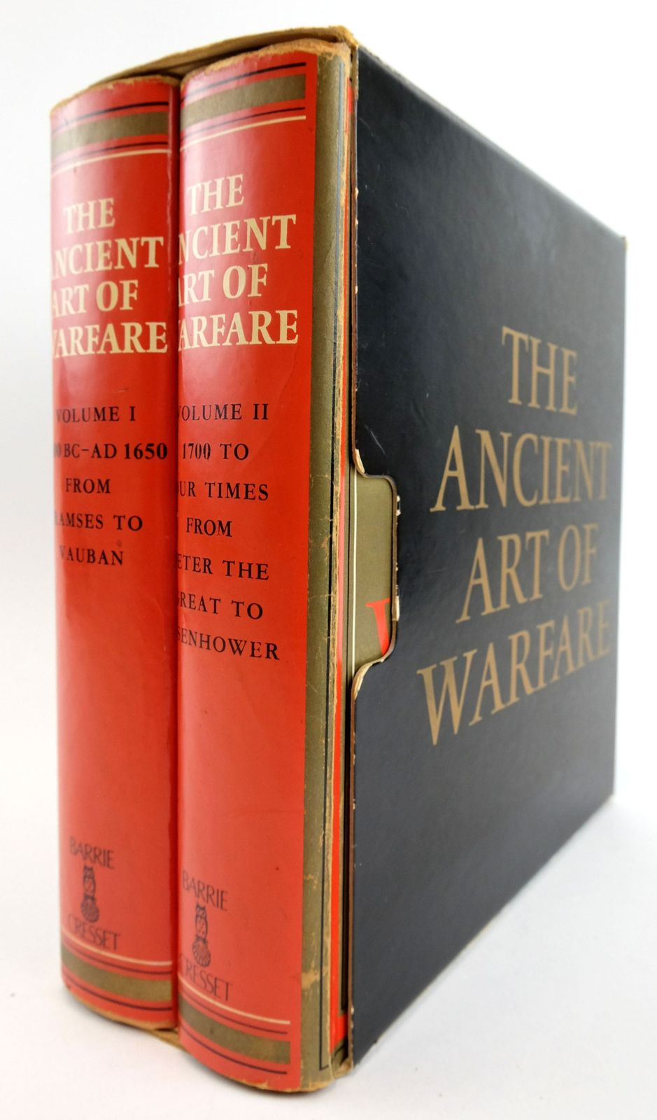 Photo of THE ANCIENT ART OF WARFARE (2 VOLUMES)