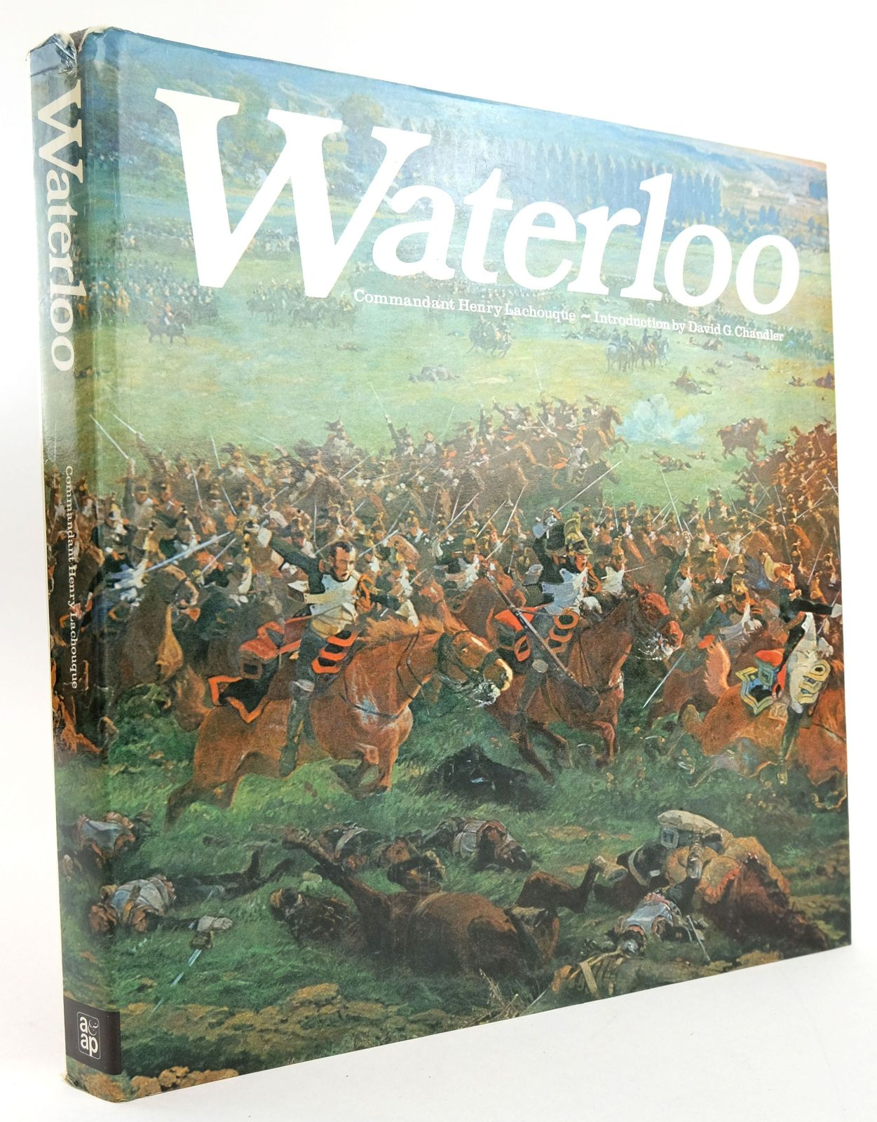 Photo of WATERLOO written by Lachouque, Henry published by Arms & Armour Press (STOCK CODE: 1820061)  for sale by Stella & Rose's Books