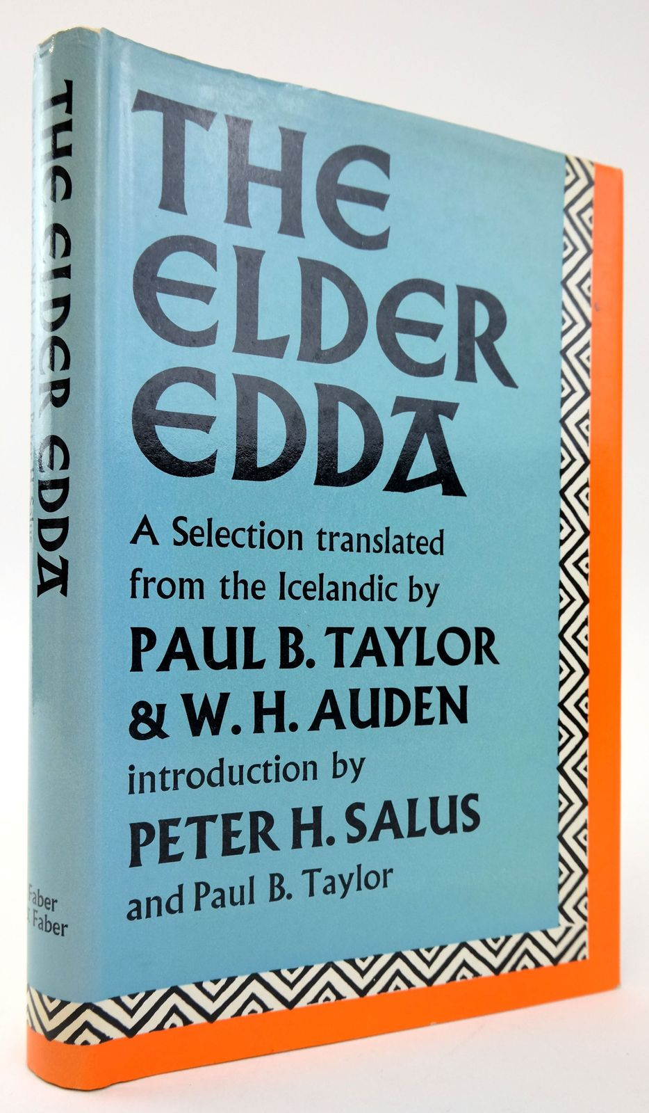 Photo of THE ELDER EDDA: A SELECTION- Stock Number: 1820090
