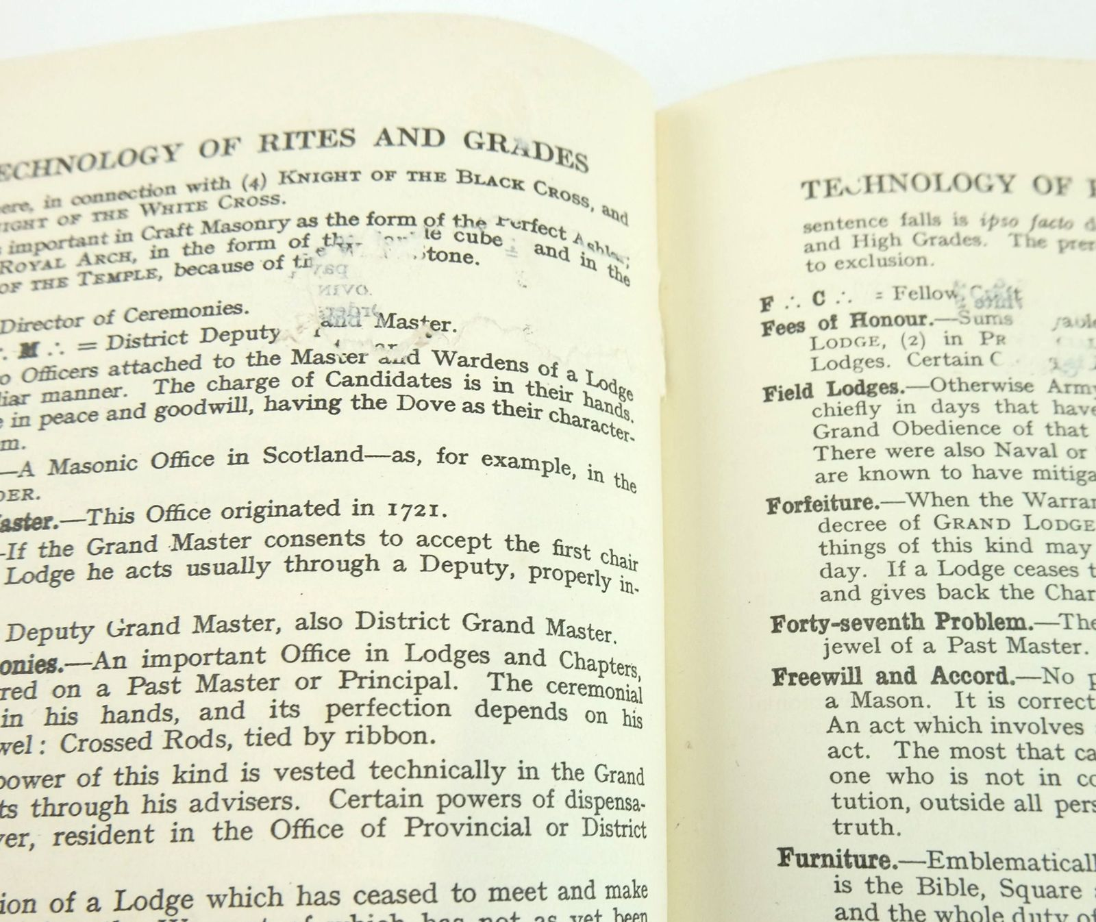 Photo of A NEW ENCYCLOPAEDIA OF FREEMASONRY (ARS MAGNA LATOMORUM) 2 VOLUMES written by Waiter, Arthur Edward published by Rider & Co. (STOCK CODE: 1820100)  for sale by Stella & Rose's Books