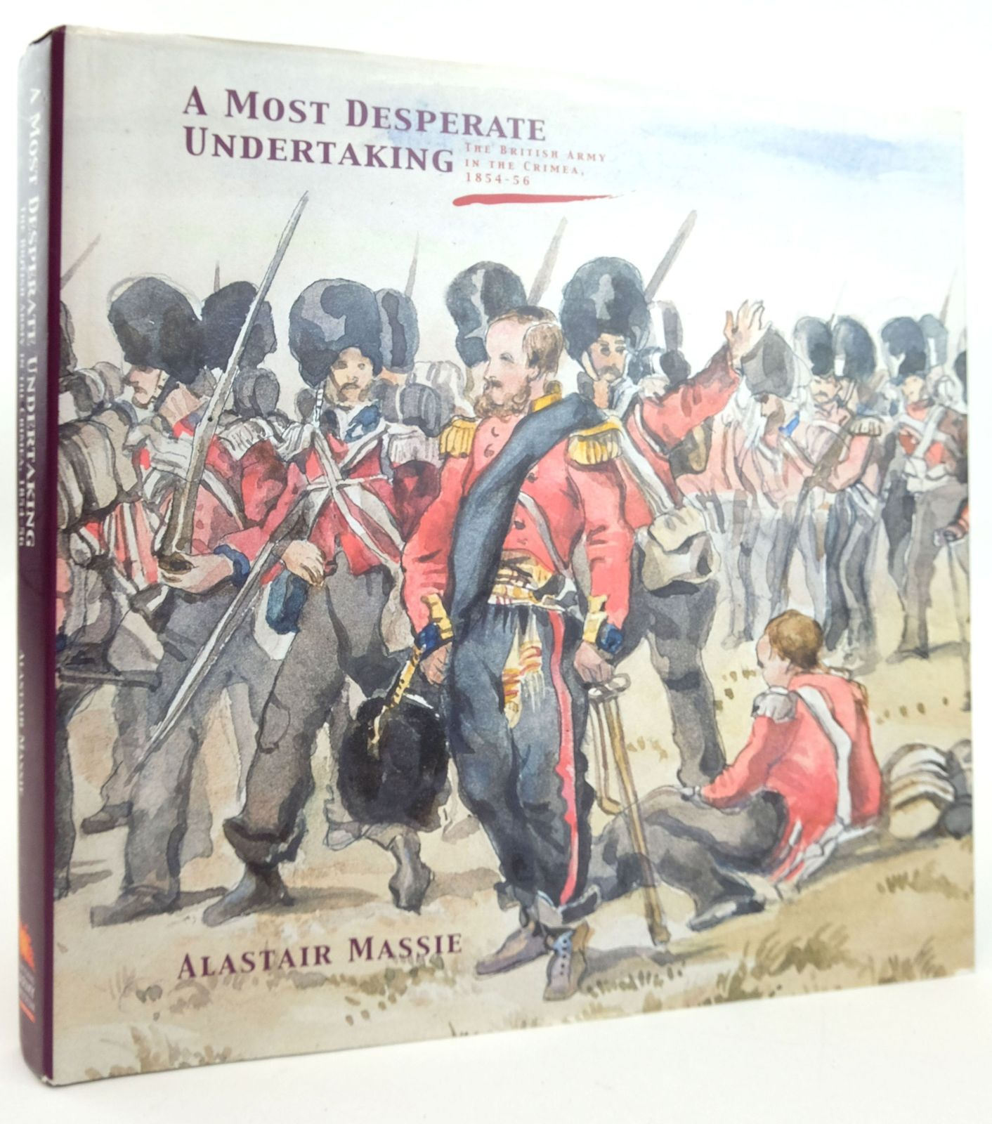 Photo of A MOST DESPERATE UNDERTAKING: THE BRITISH ARMY IN THE CRIMEA, 1854-56 written by Massie, Alastair published by National Army Museum (STOCK CODE: 1820101)  for sale by Stella & Rose's Books