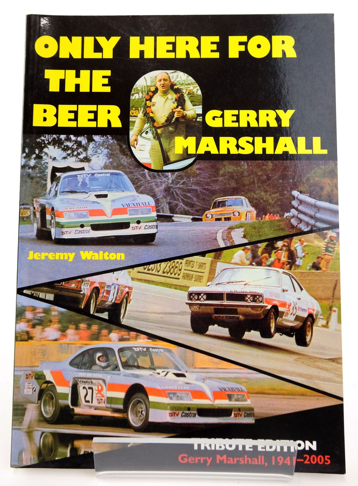 Photo of ONLY HERE FOR THE BEER: GERRY MARSHALL written by Walton, Jeremy published by Haynes Publishing Group (STOCK CODE: 1820132)  for sale by Stella & Rose's Books