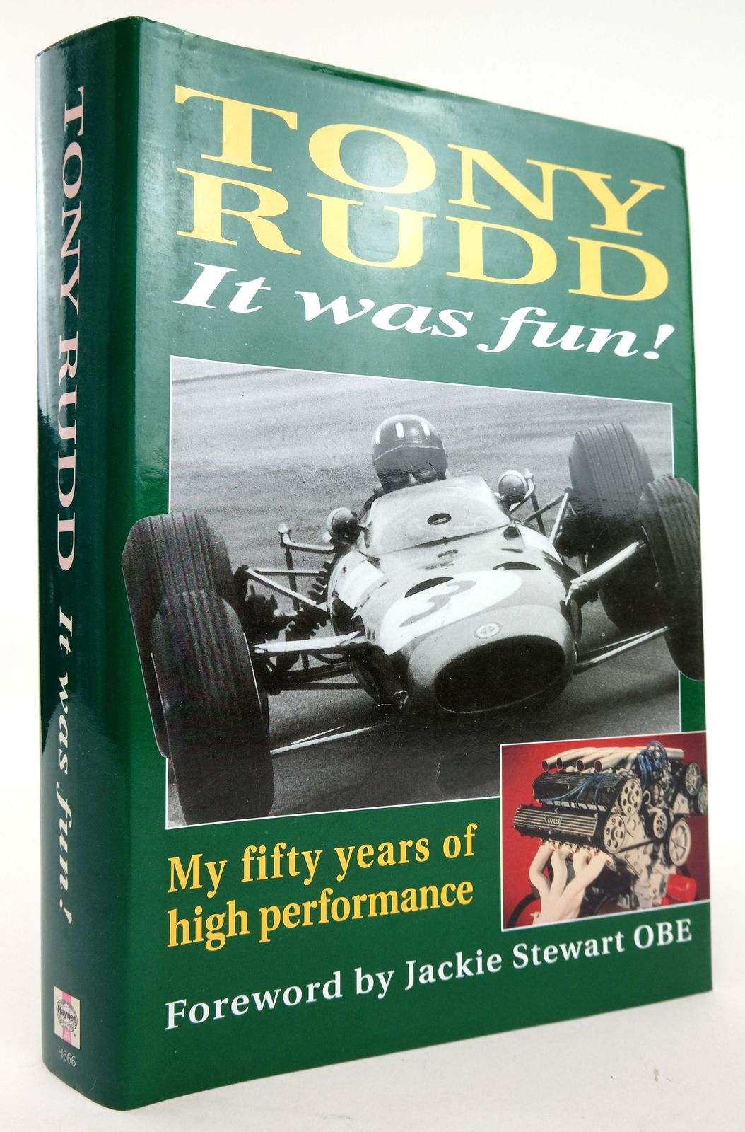 Photo of IT WAS FUN! MY FIFTY YEARS OF HIGH PERFORMANCE written by Rudd, Tony published by Haynes Publishing (STOCK CODE: 1820136)  for sale by Stella & Rose's Books