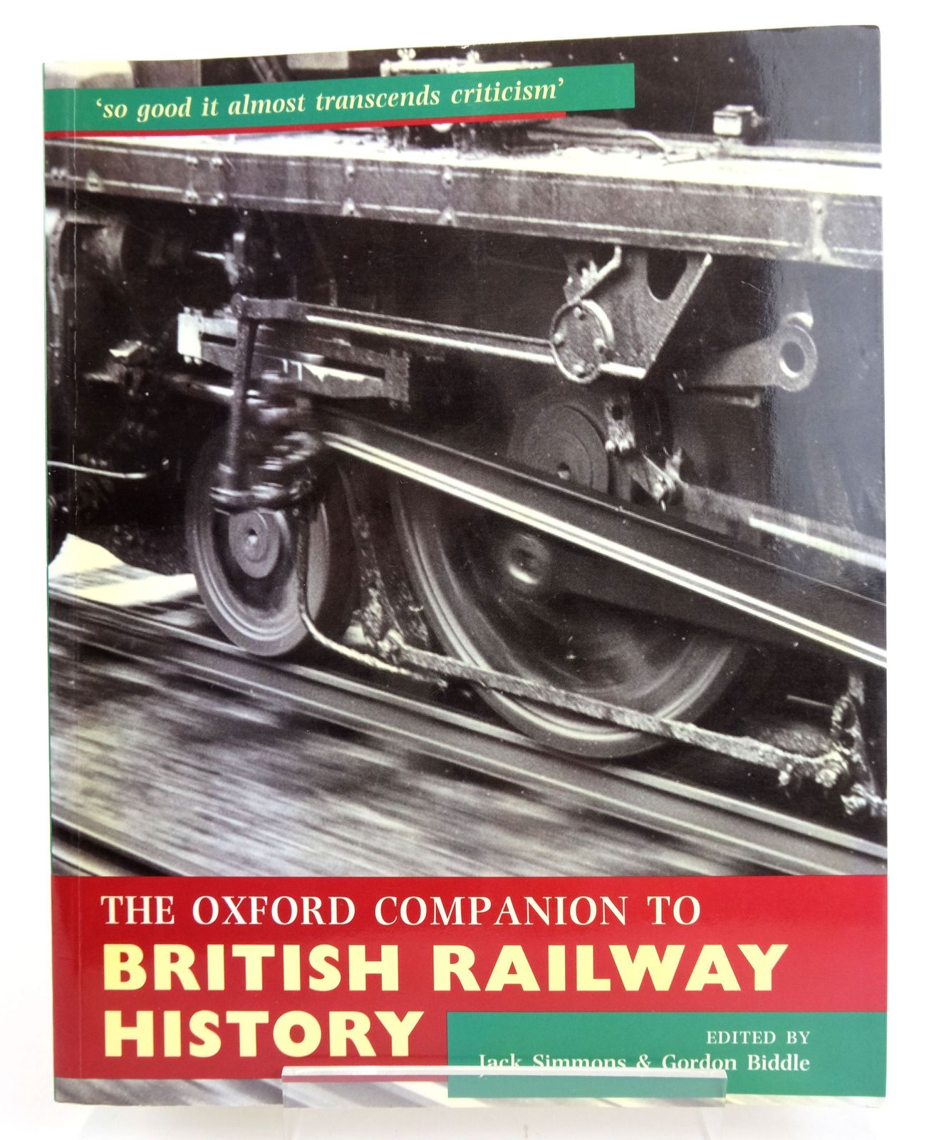 Photo of THE OXFORD COMPANION TO BRITISH RAILWAY HISTORY- Stock Number: 1820150