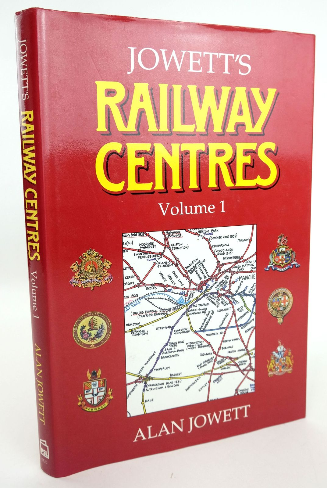 Photo of JOWETT'S RAILWAY CENTRES VOLUME 1- Stock Number: 1820153