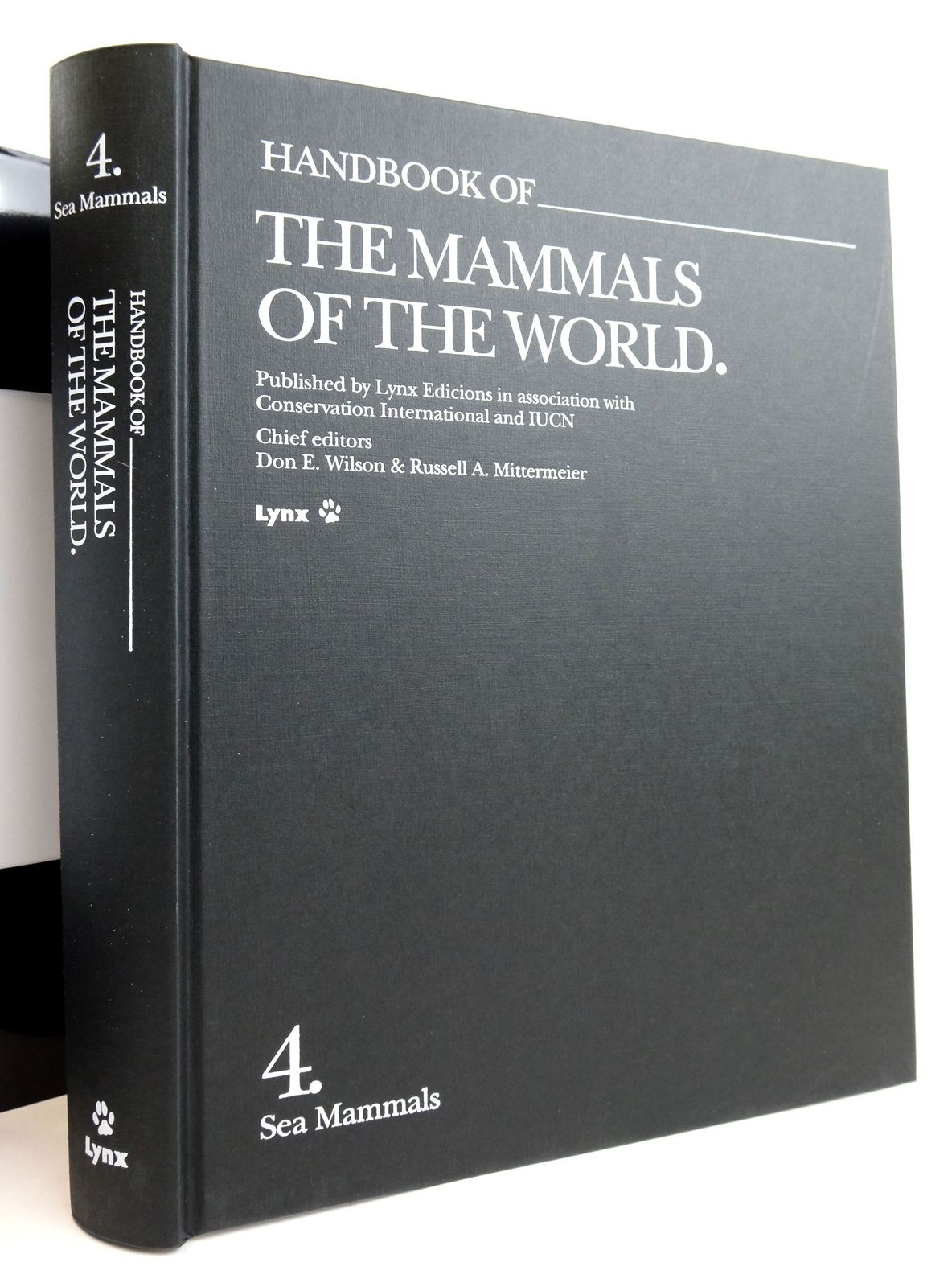 Photo of HANDBOOK OF THE MAMMALS OF THE WORLD 4. SEA MAMMALS written by Wilson, Don E. Mittermeier, Russell A. et al, published by Lynx Edicions (STOCK CODE: 1820159)  for sale by Stella & Rose's Books