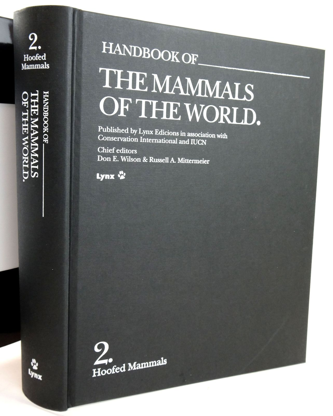 Photo of HANDBOOK OF THE MAMMALS OF THE WORLD 2. HOOFED MAMMALS written by Wilson, Don E. Mittermeier, Russell A. et al, published by Lynx Edicions (STOCK CODE: 1820164)  for sale by Stella & Rose's Books