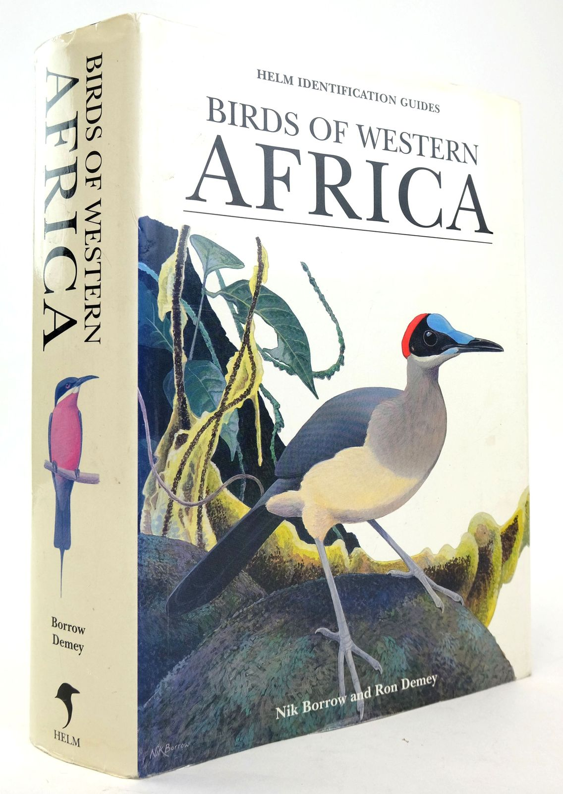 Photo of BIRDS OF WESTERN AFRICA (HELM IDENTIFICATION GUIDES) written by Demey, Ron illustrated by Borrow, Nik published by Christopher Helm (STOCK CODE: 1820186)  for sale by Stella & Rose's Books
