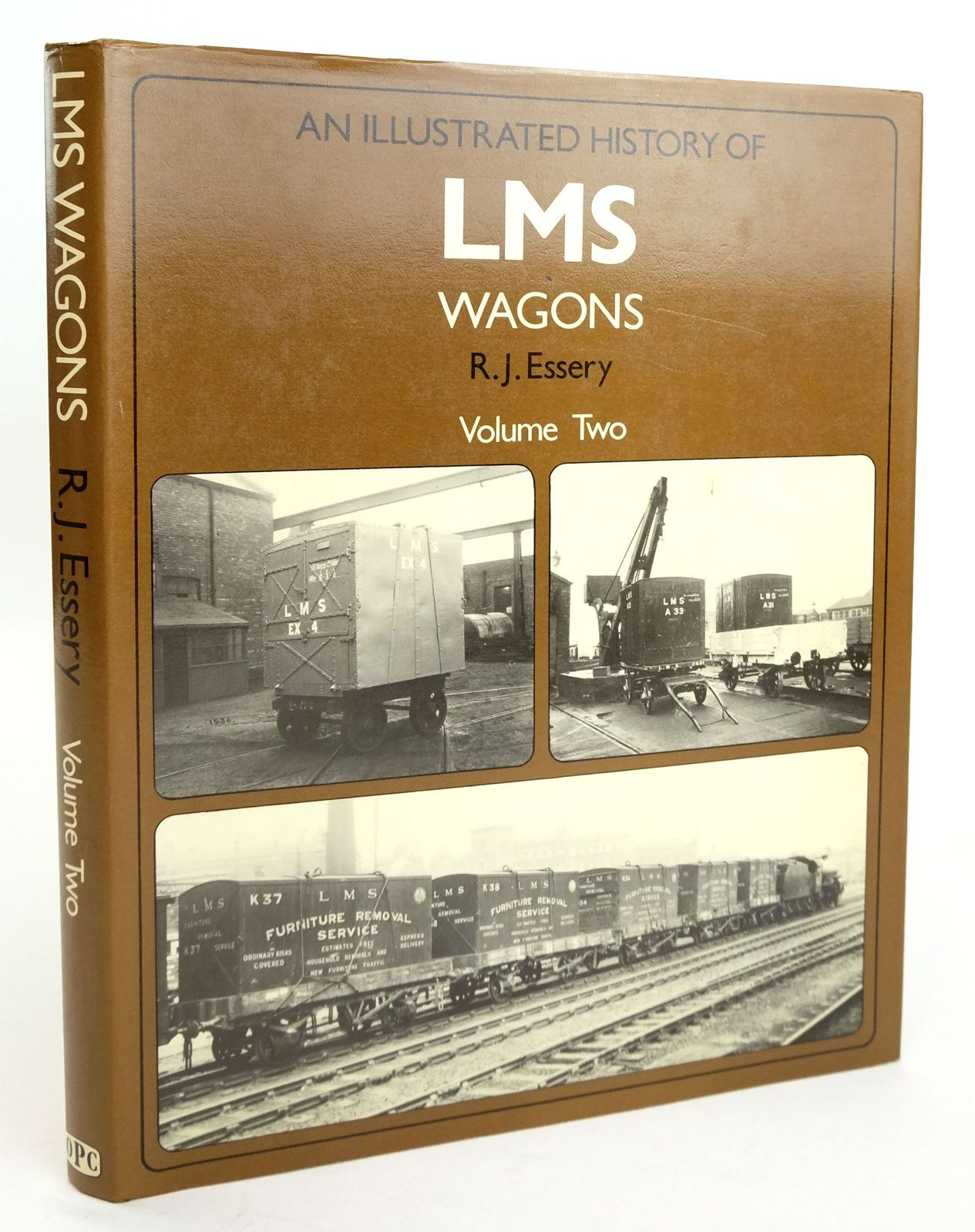 Photo of AN ILLUSTRATED HISTORY OF LMS WAGONS VOLUME TWO written by Essery, R.J. published by Oxford Publishing (STOCK CODE: 1820190)  for sale by Stella & Rose's Books
