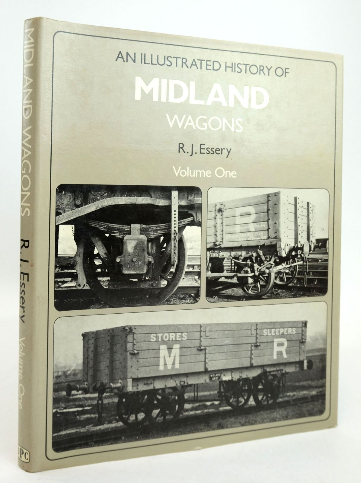Photo of AN ILLUSTRATED HISTORY OF MIDLAND WAGONS VOLUME ONE written by Essery, R.J. published by Oxford Publishing Co (STOCK CODE: 1820197)  for sale by Stella & Rose's Books
