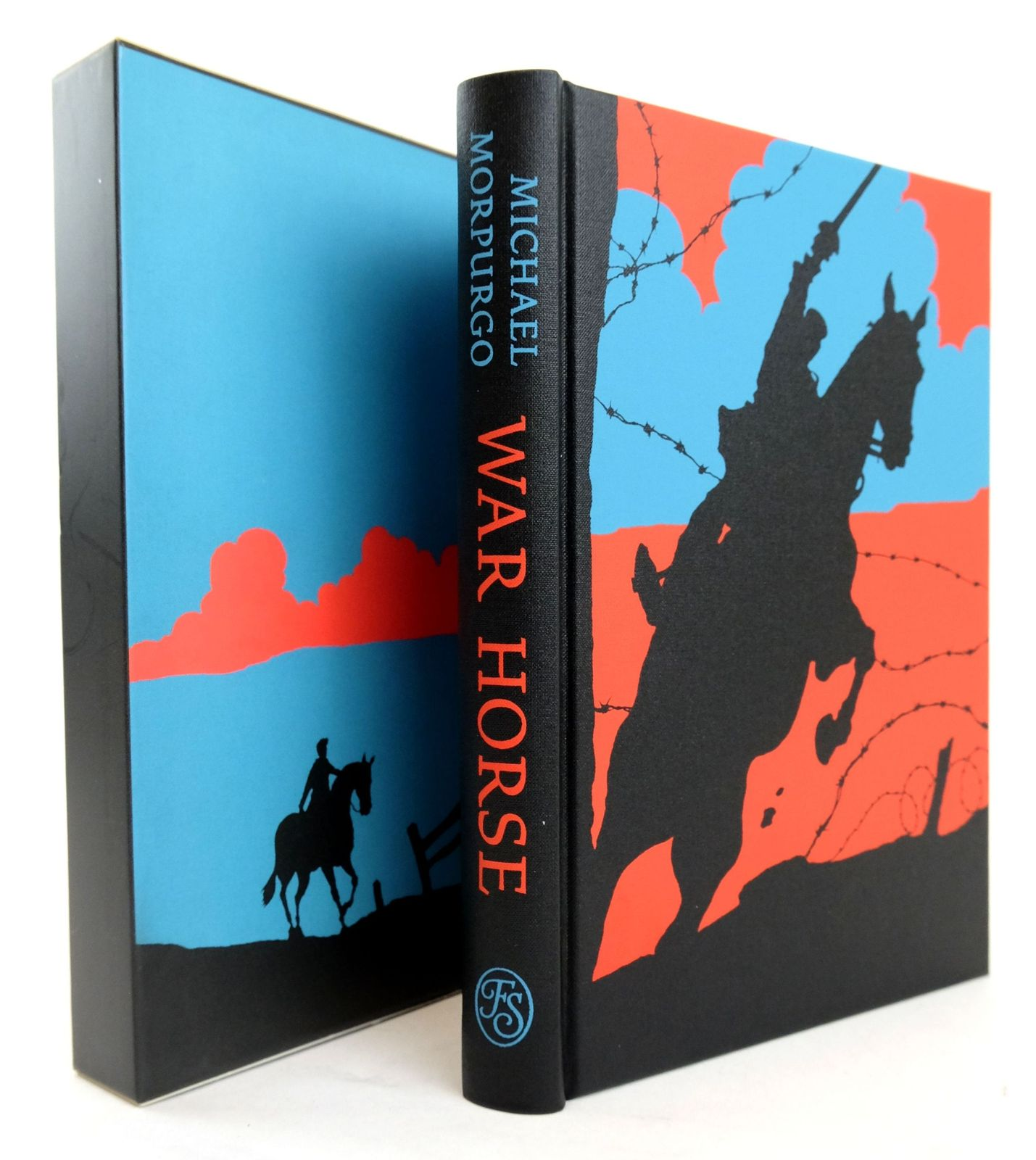 Photo of WAR HORSE written by Morpurgo, Michael illustrated by Marks, Alan published by Folio Society (STOCK CODE: 1820226)  for sale by Stella & Rose's Books