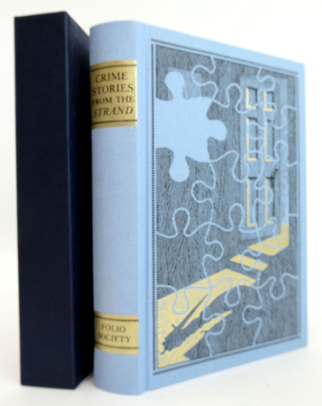 Photo of CRIME STORIES FROM THE 'STRAND' written by Beare, Geraldine Keating, H.R.F. illustrated by Eccles, David published by Folio Society (STOCK CODE: 1820229)  for sale by Stella & Rose's Books