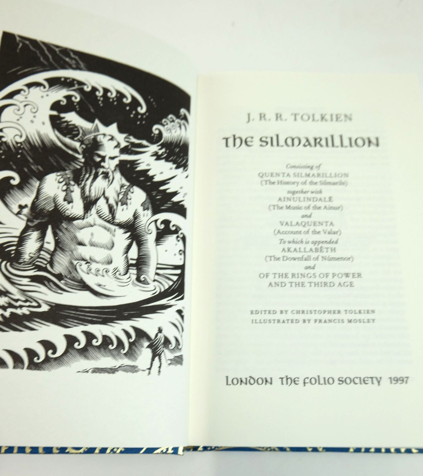 Photo of THE SILMARILLION written by Tolkien, J.R.R.