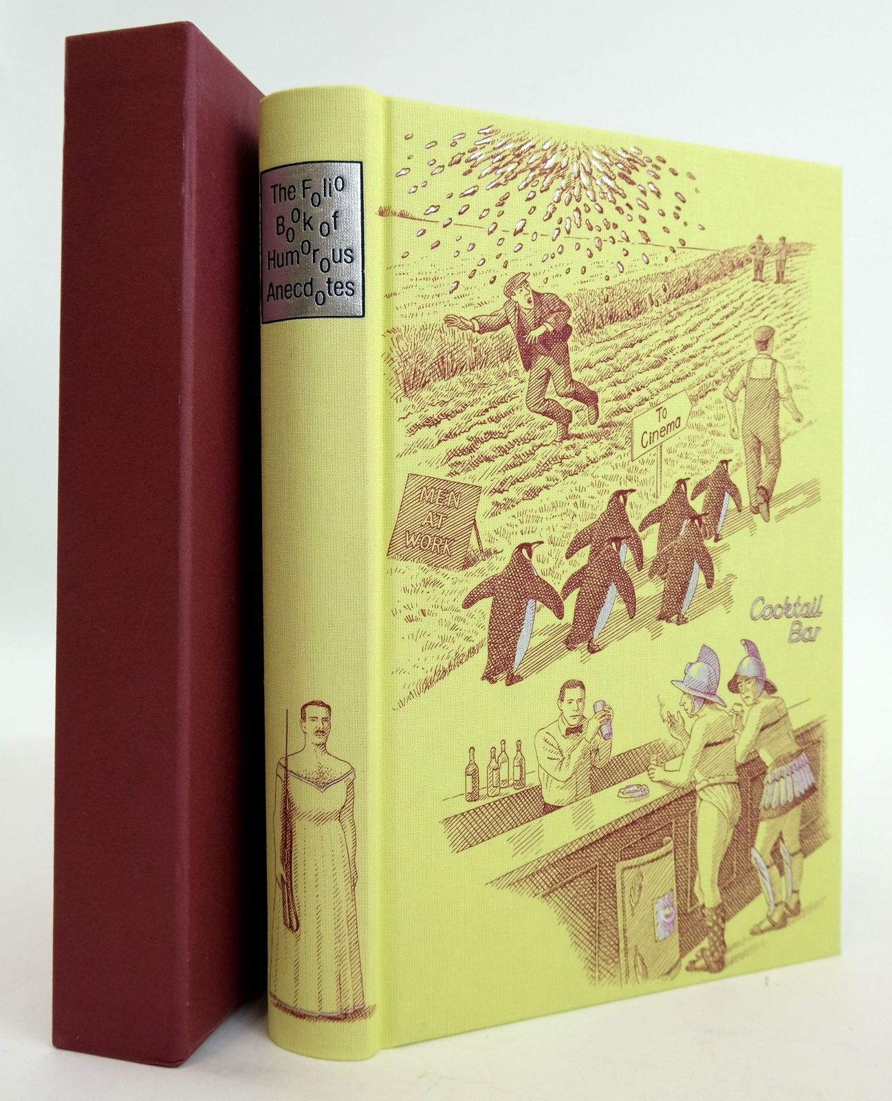 Photo of THE FOLIO BOOK OF HUMOROUS ANECDOTES written by Leeson, Edward illustrated by Hardcastle, Nick published by Folio Society (STOCK CODE: 1820235)  for sale by Stella & Rose's Books