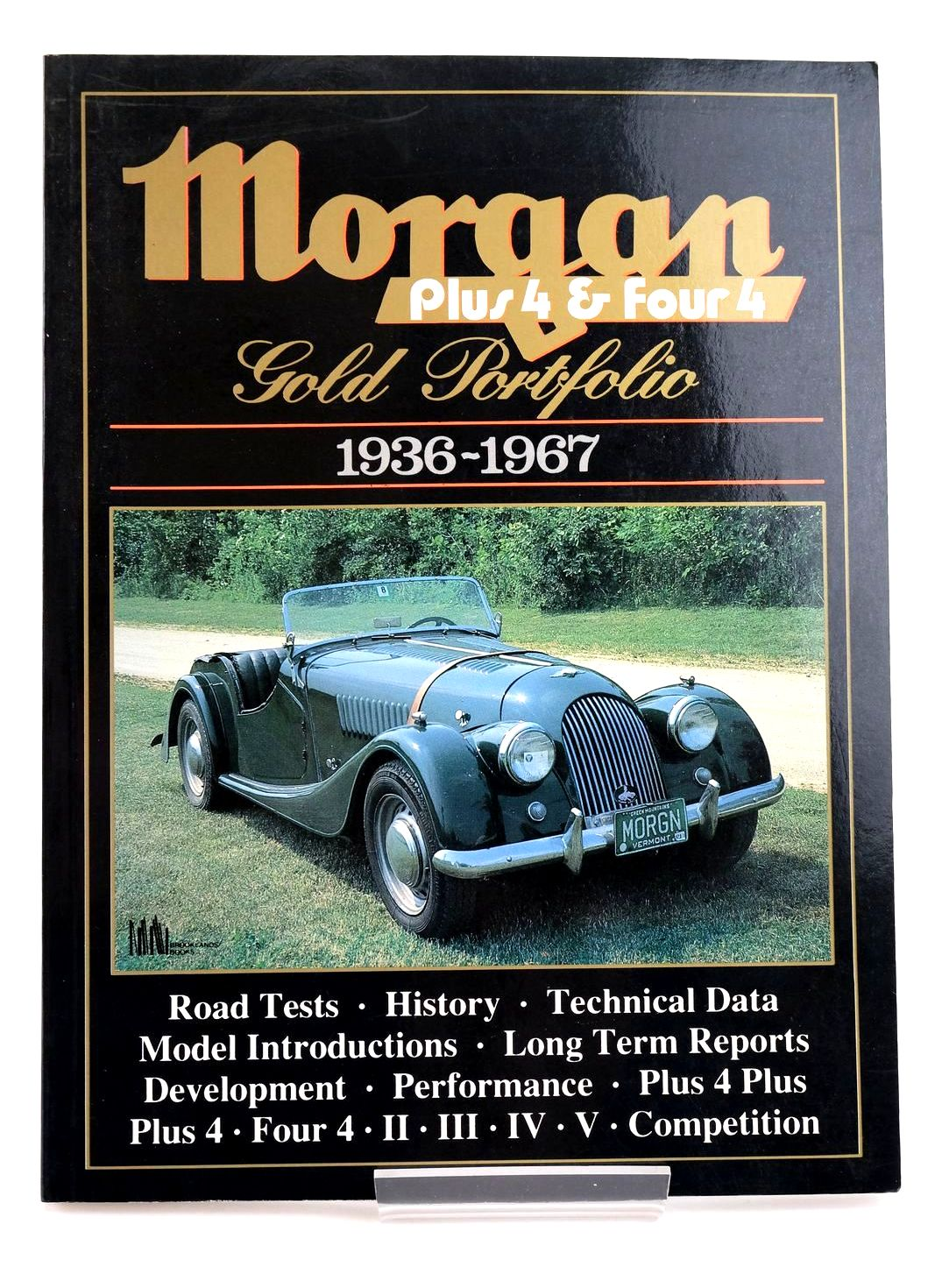 Photo of MORGAN PLUS 4 & FOUR 4: GOLD PORTFOLIO 1936-1967 written by Clarke, R.M. published by Brooklands Books (STOCK CODE: 1820258)  for sale by Stella & Rose's Books