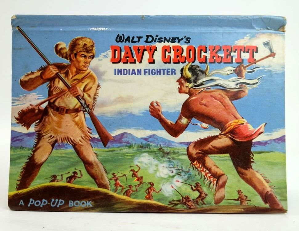 Photo of WALT DISNEY'S DAVY CROCKETT: INDIAN FIGHTER A POP-UP BOOK written by Disney, Walt illustrated by Disney, Walt published by Adprint (STOCK CODE: 1820273)  for sale by Stella & Rose's Books