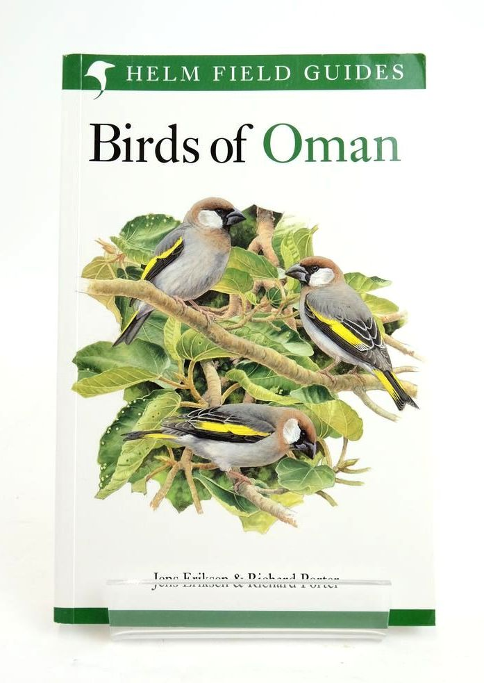 Photo of BIRDS OF OMAN (HELM FIELD GUIDES) written by Eriksen, Jens Porter, Richard illustrated by Gale, John Langman, Mike Small, Brian published by Christopher Helm (STOCK CODE: 1820288)  for sale by Stella & Rose's Books