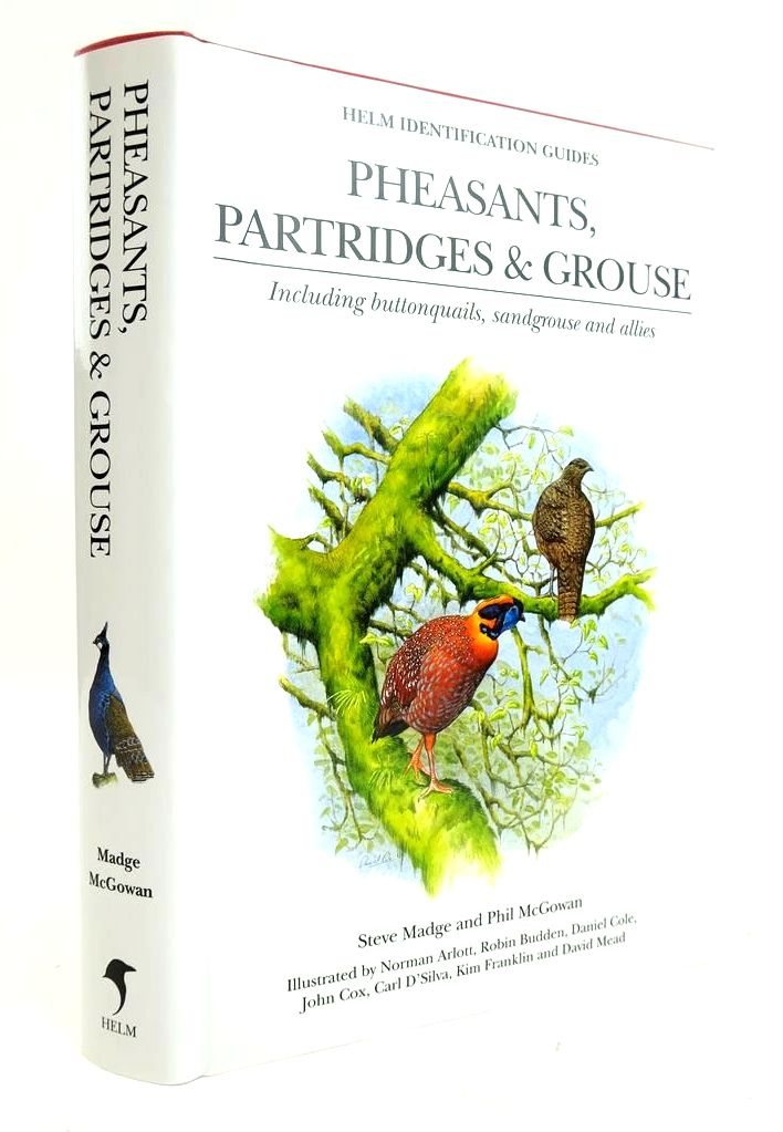 Photo of PHEASANTS, PARTRIDGES AND GROUSE (HELM IDENTIFICATION GUIDES) written by Madge, Steve Mcgowan, Phil illustrated by Arlott, Norman et al.,  published by Christopher Helm (STOCK CODE: 1820292)  for sale by Stella & Rose's Books