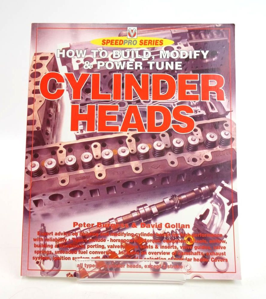 Photo of HOW TO BUILD, MODIFY & POWER TUNE CYLINDER HEADS (SPEEDPRO SERIES) written by Burgess, Peter Gollan, David published by Veloce Publishing Plc. (STOCK CODE: 1820304)  for sale by Stella & Rose's Books