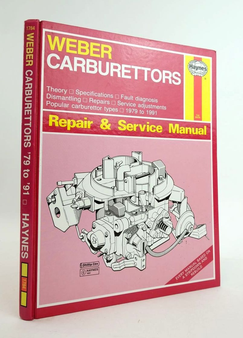 Photo of WEBER CARBURETTORS MANUAL written by White, Charles published by Haynes Publishing Group (STOCK CODE: 1820314)  for sale by Stella & Rose's Books