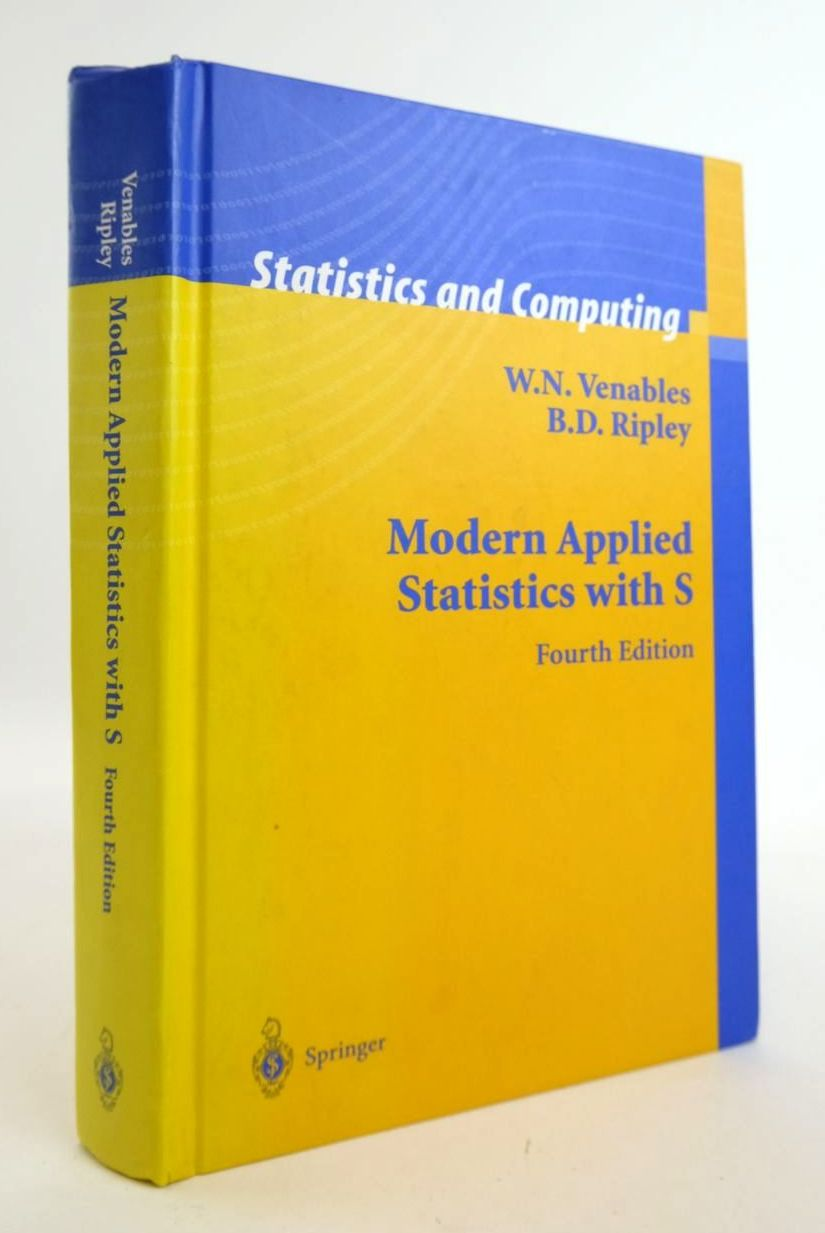 Photo of MODERN APPLIED STATISTICS WITH S written by Venables, W.N. Ripley, B.D. published by Springer (STOCK CODE: 1820322)  for sale by Stella & Rose's Books