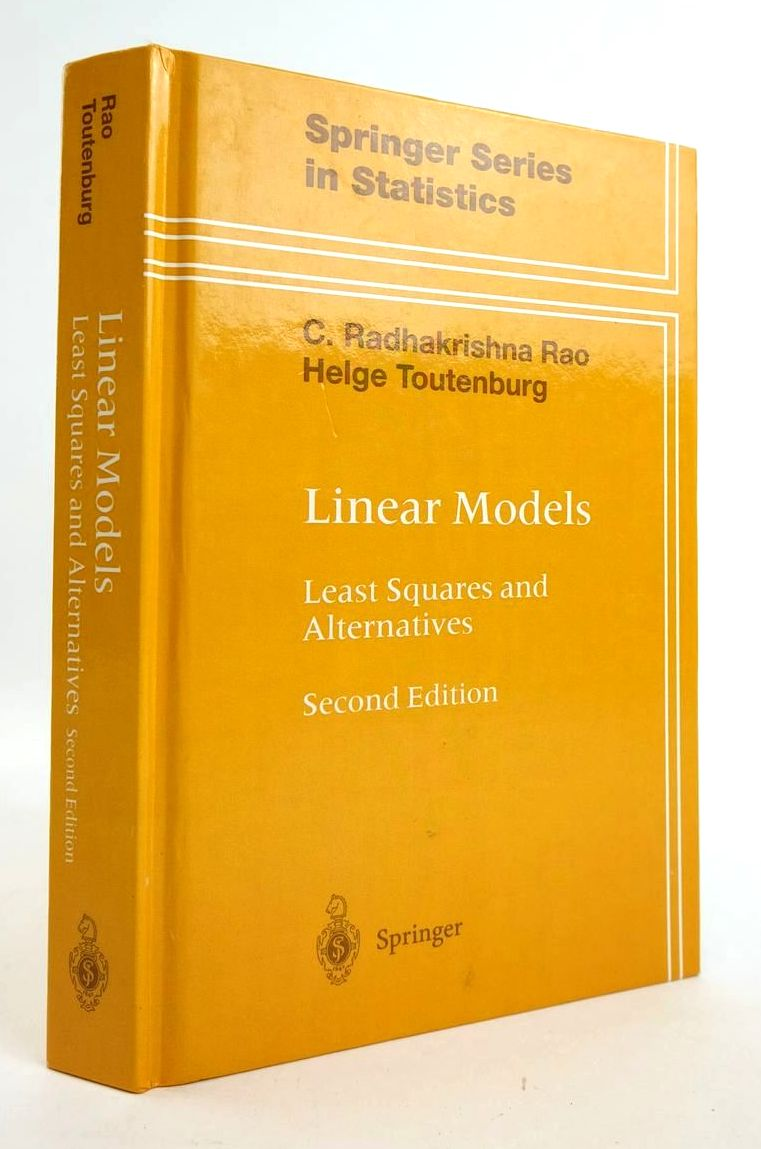 Photo of LINEAR MODELS: LEAST SQUARES AND ALTERNATIVES (SPRINGER SERIES IN STATISTICS)- Stock Number: 1820323